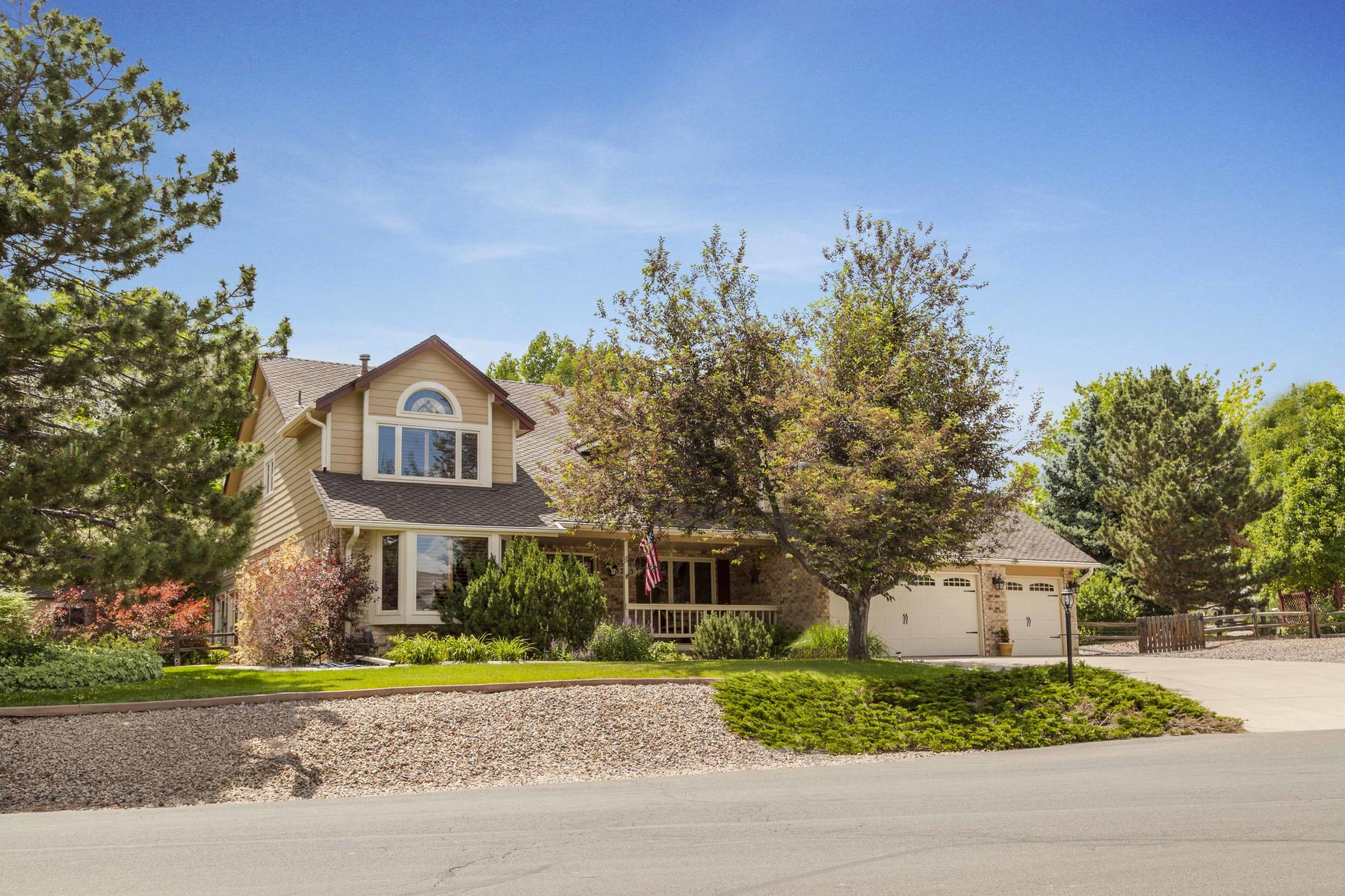 Single Family Home for Active at WOW! Belleview Acres! 5233 South Xenophon Court Littleton, Colorado 80127 United States