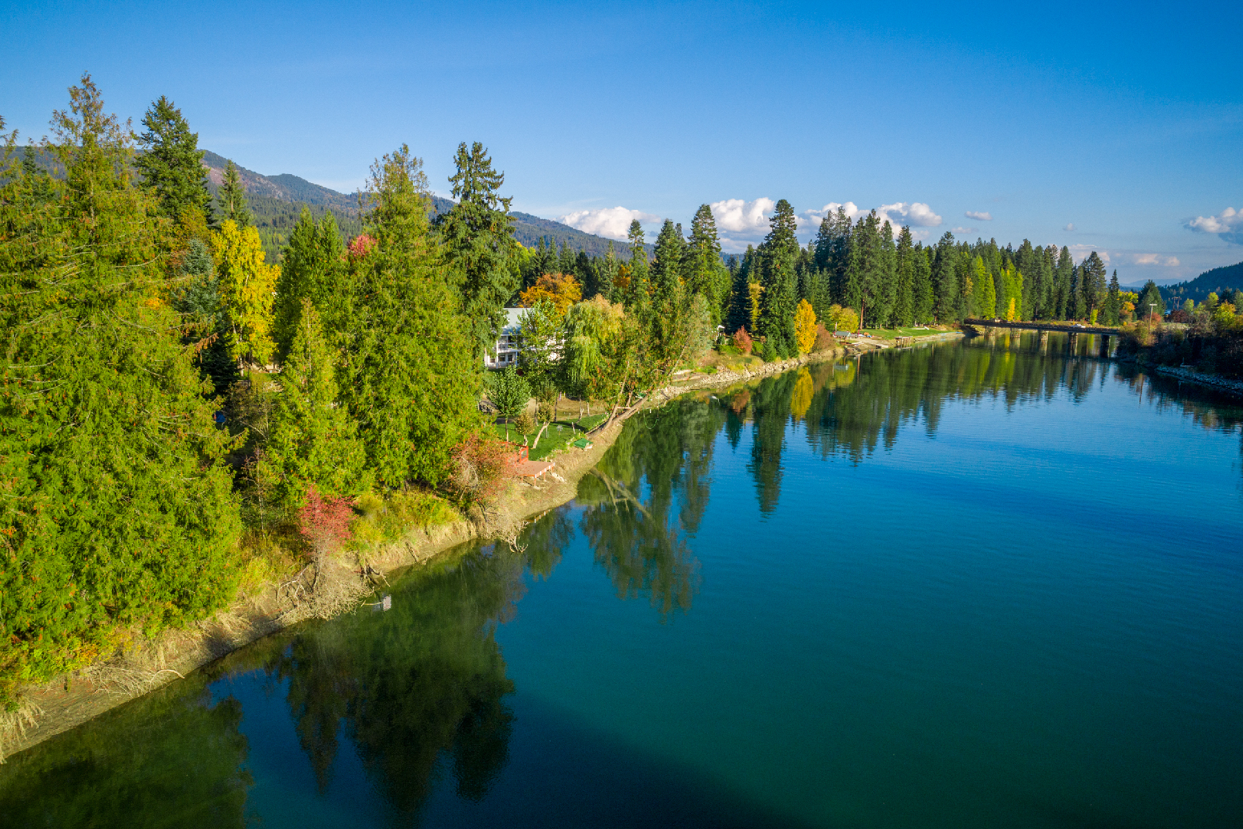 Land for Sale at Large Waterfront Private Parcel 306 Rivers End Dr Parcel 2 Priest River, Idaho 83856 United States
