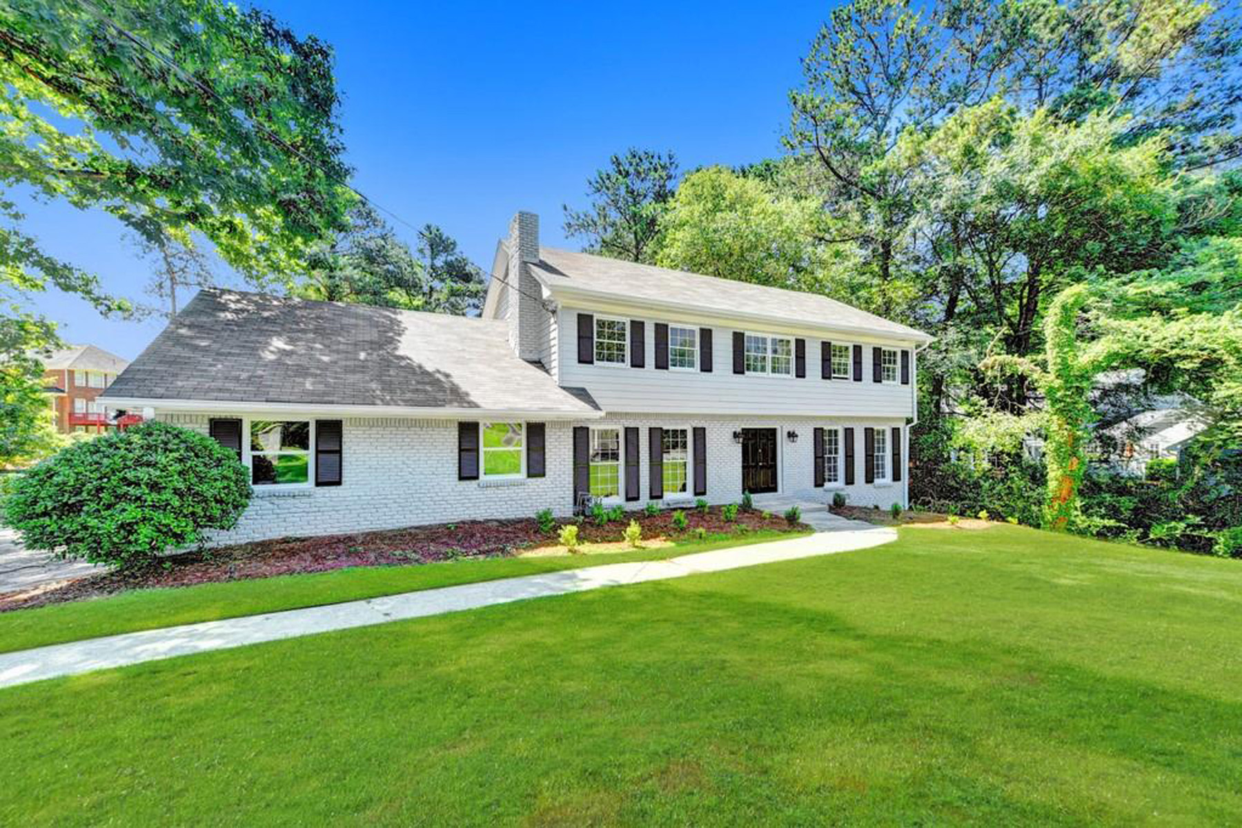 Single Family Homes for Sale at Renovated Home In Sought After Location 1757 North Springs Drive Dunwoody, Georgia 30038 United States