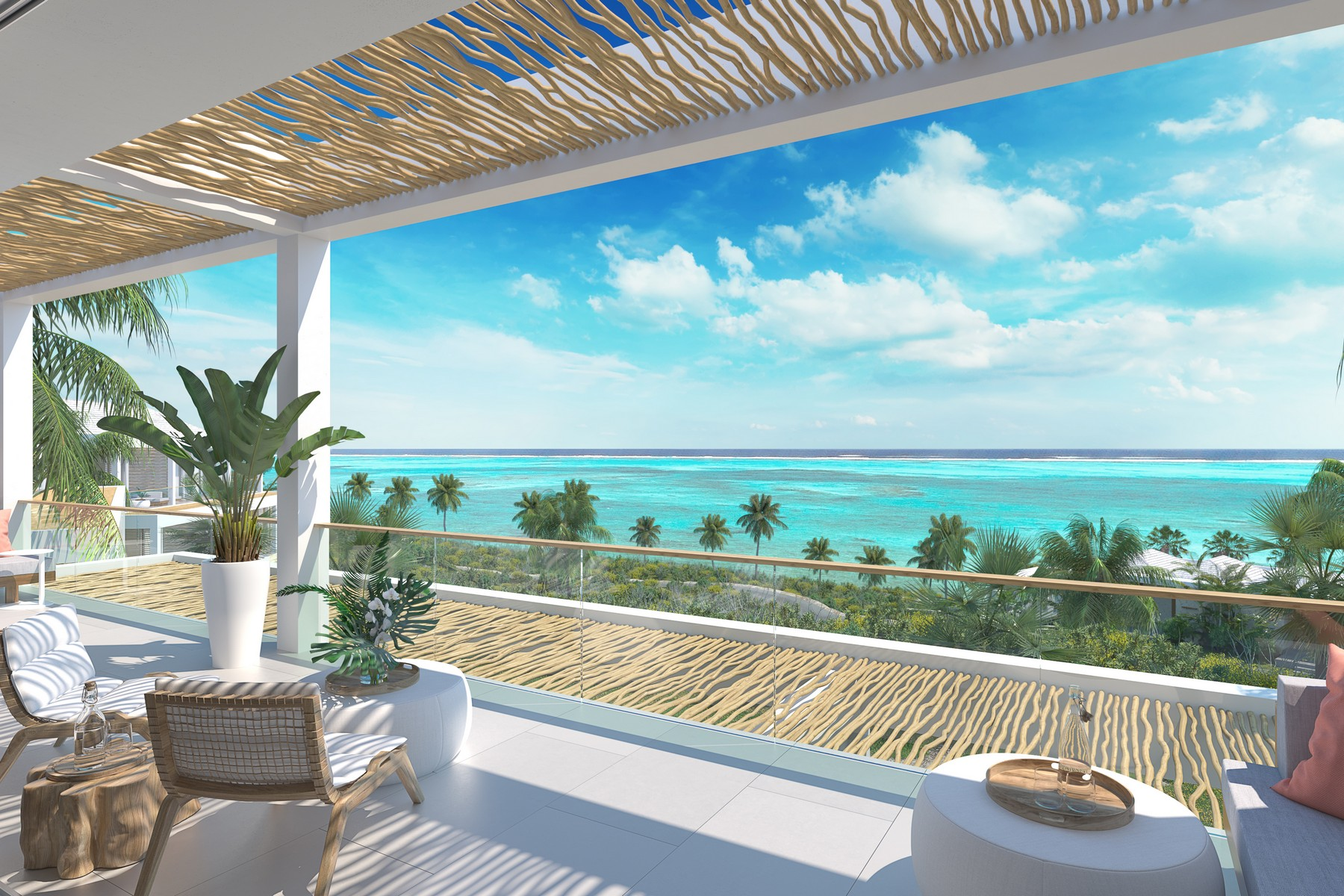 Additional photo for property listing at Rock House Two Bedroom Oceanfront Cottage Rock House Resort, International Drive Cheshire Hall, Providenciales TKCA 1ZZ Îles Turques Et Caïques