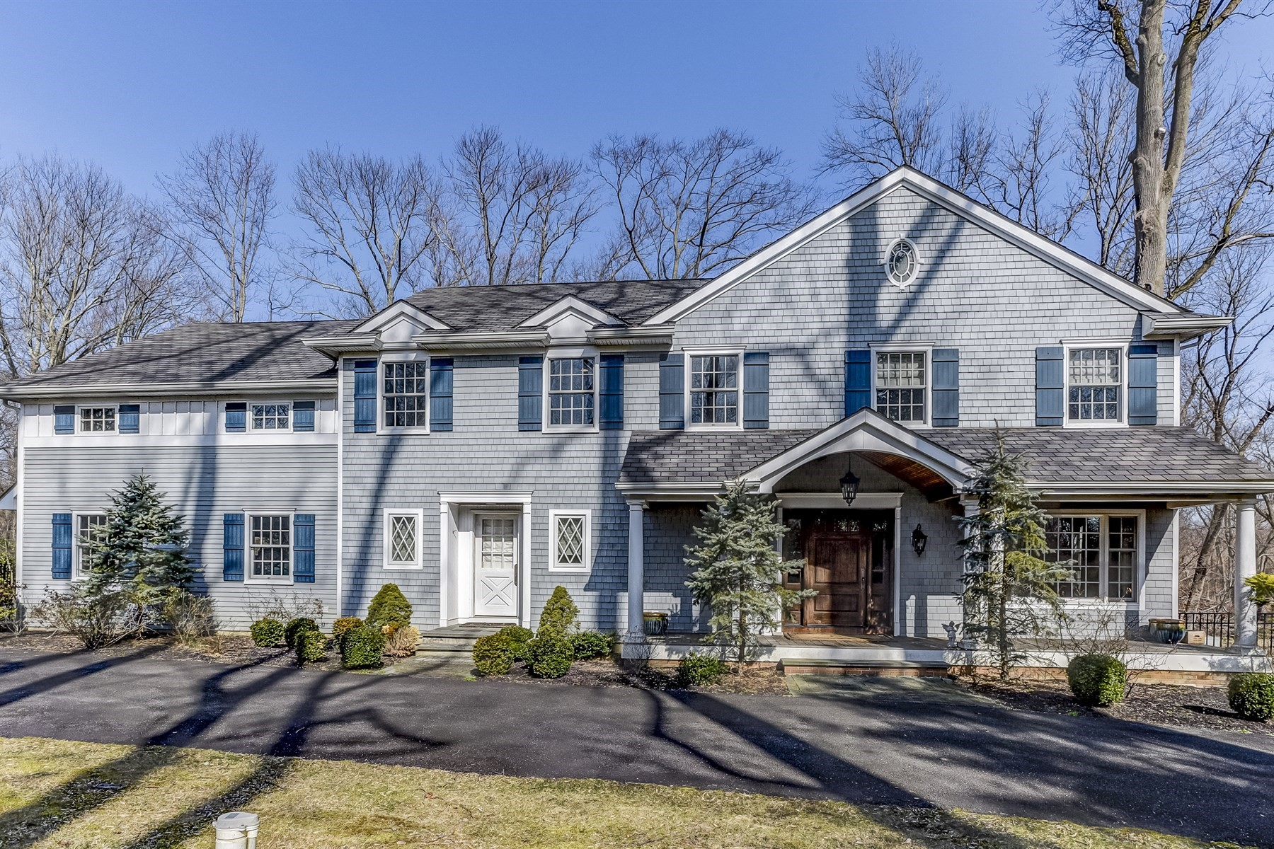 Single Family Home for Sale at Custom Built Home 92 Tulip Lane Colts Neck, New Jersey 07722 United States