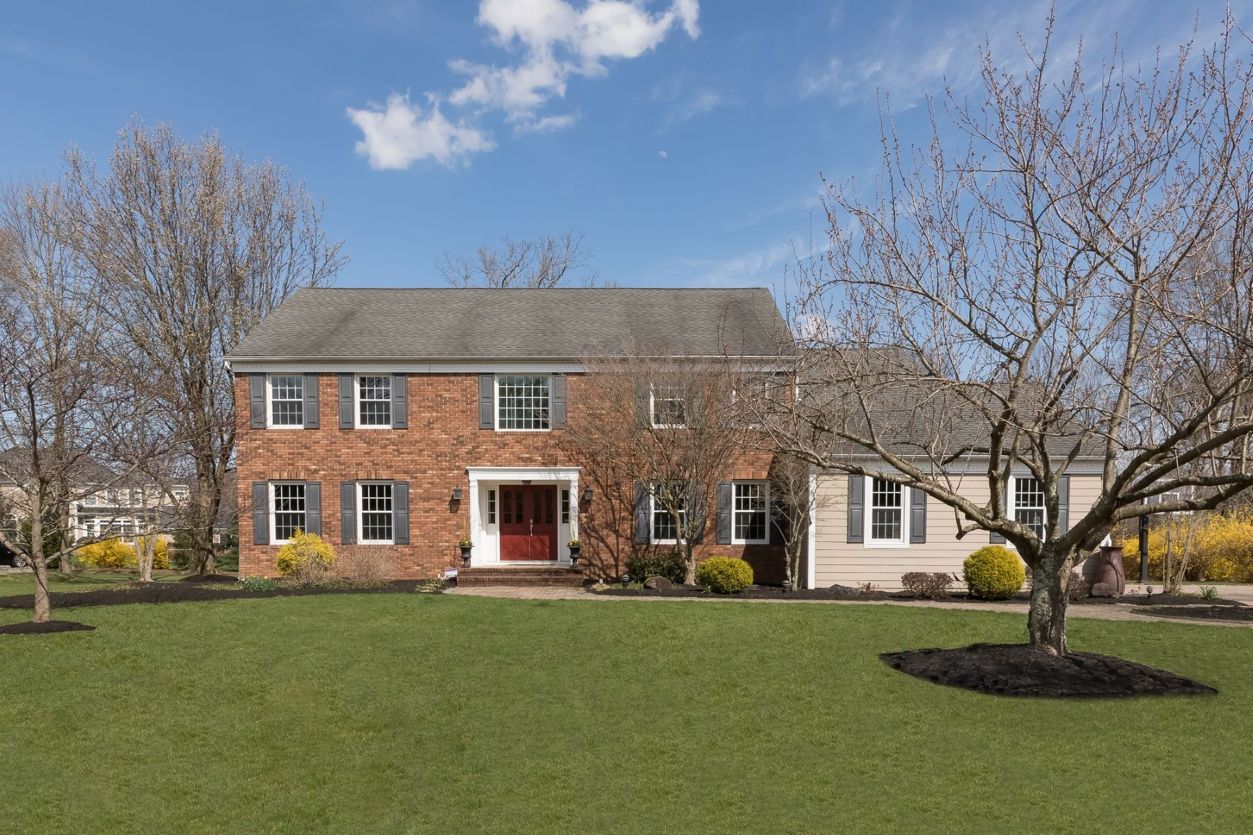 Moradia para Venda às Distinguished Colonial 154 Woods End, Basking Ridge, Nova Jersey 07920 Estados Unidos