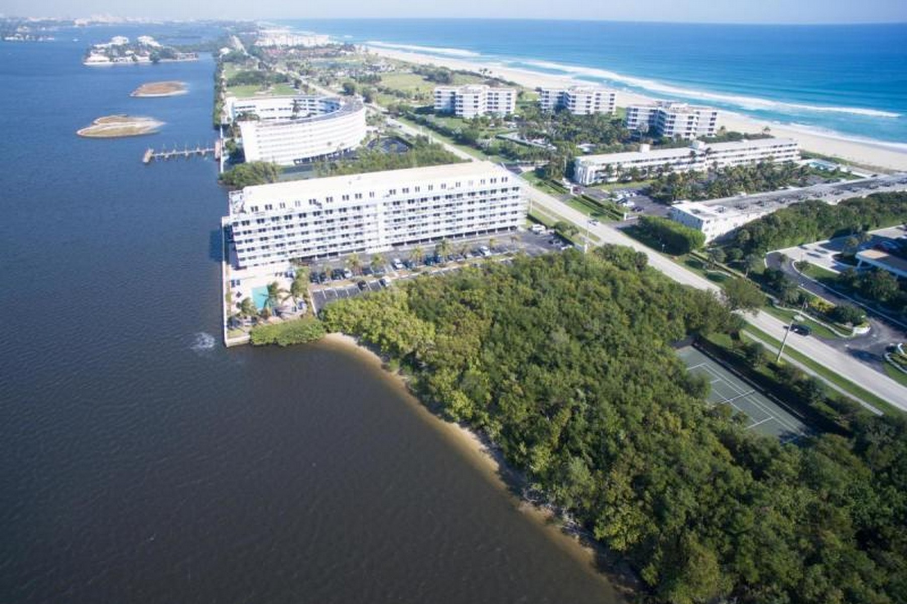 Condominiums for Sale at Island Hideaway with Relaxed Ambiance & Private Gated Beach Access 2560 S Ocean Boulevard Unit 612 Palm Beach, Florida 33480 United States