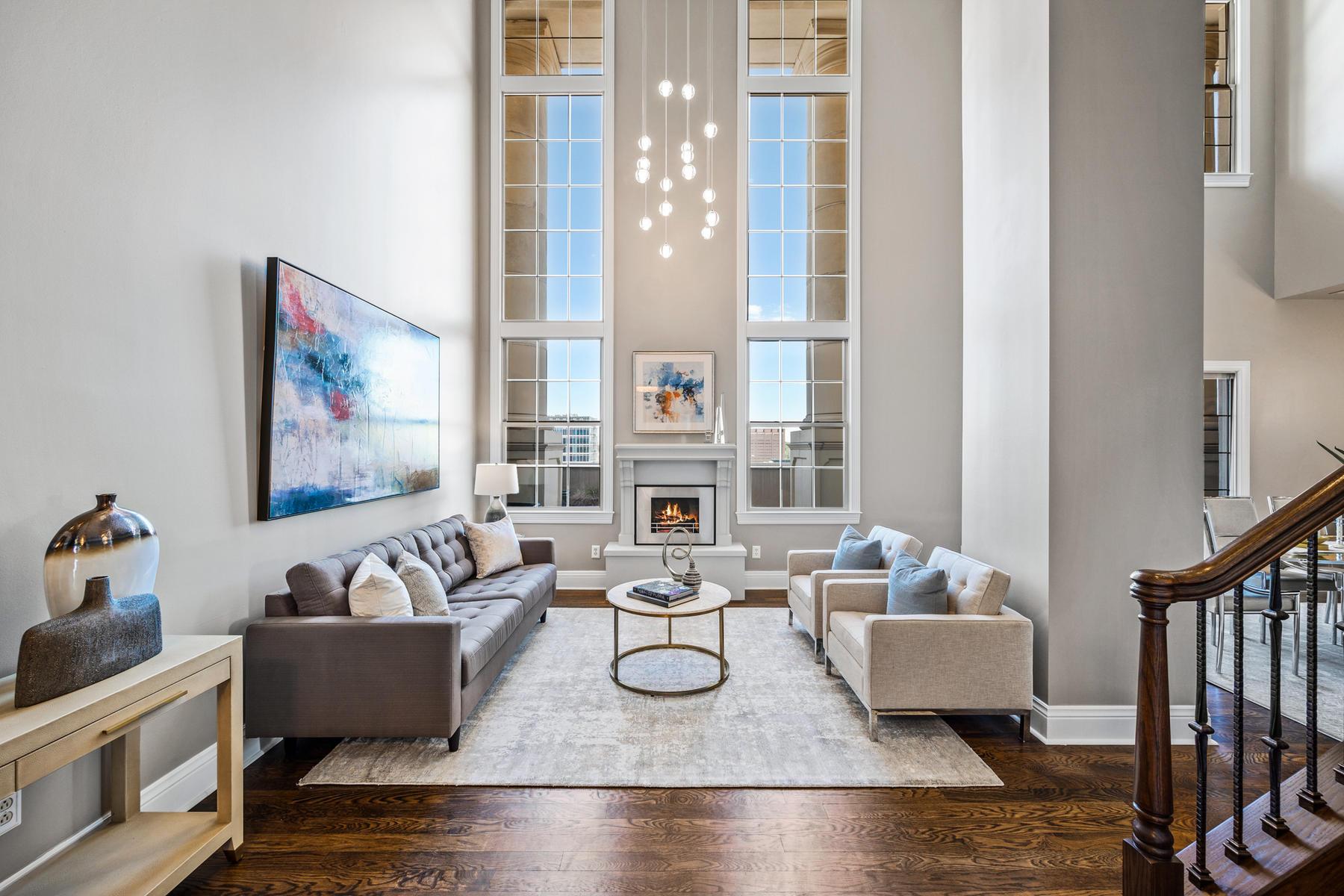 Condominiums для того Продажа на Experience Denver's Upscale Urban Lifestyle 475 W 12th Avenue Unit #16D, Denver, Колорадо 80204 Соединенные Штаты