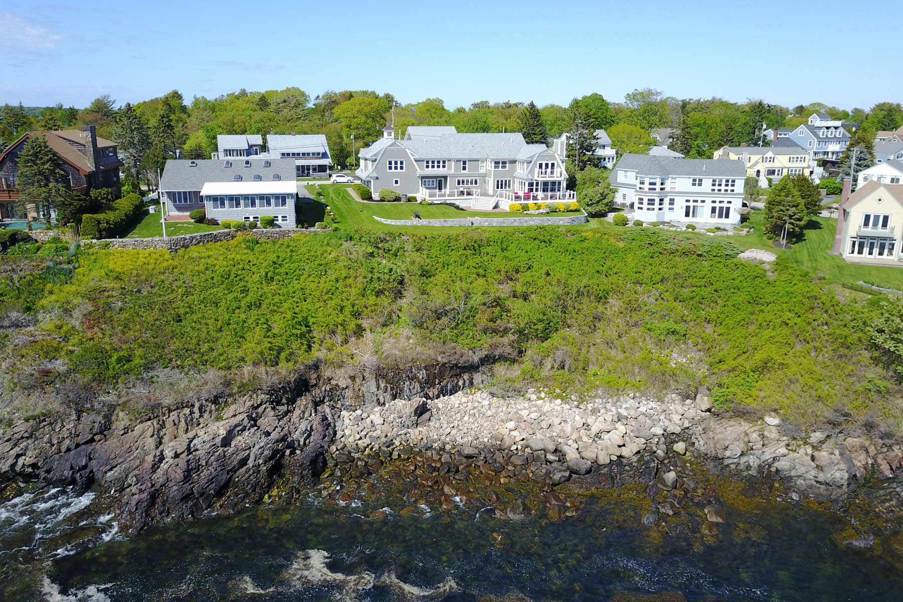 Single Family Home for Sale at Oceanfront Luxury on The Nubble 99 Nubble Road York, Maine, 03909 United States