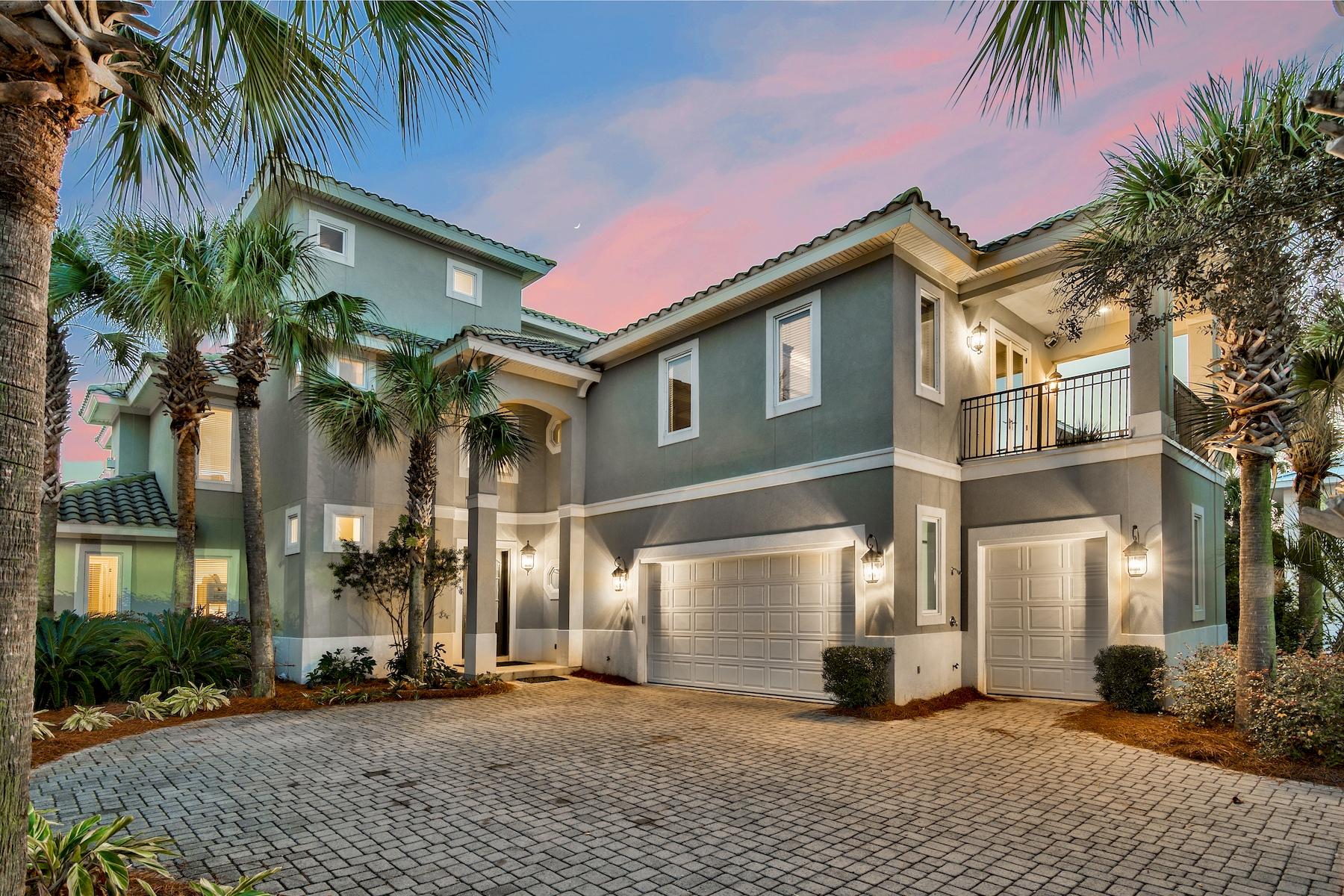 단독 가정 주택 용 매매 에 Rental Machine in Gated Community with Gulf Views 52 Tranquility Lane, Destin, 플로리다, 32541 미국