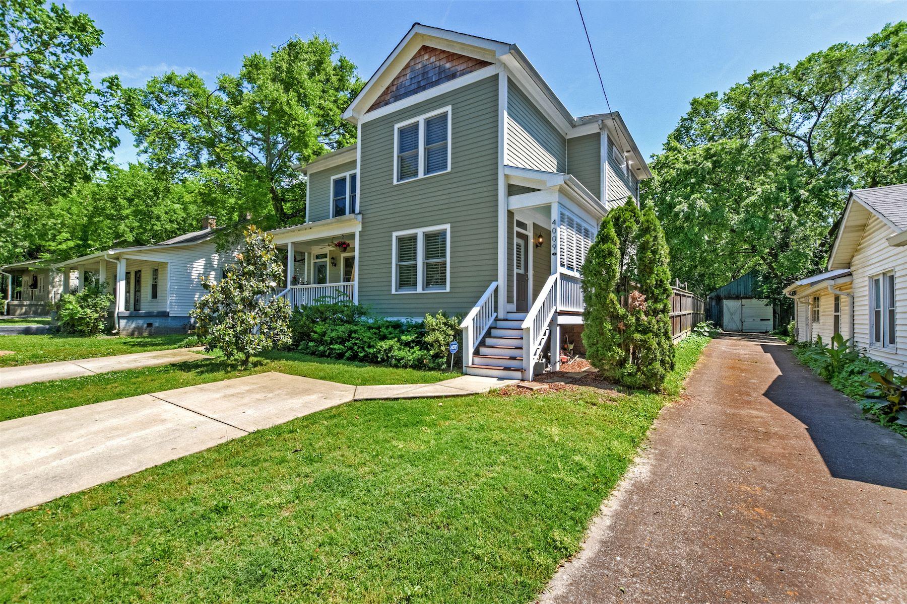 Condominio por un Venta en Beautiful Home in Sylvan Heights 4009B Nevada Avenue Nashville, Tennessee, 37209 Estados Unidos