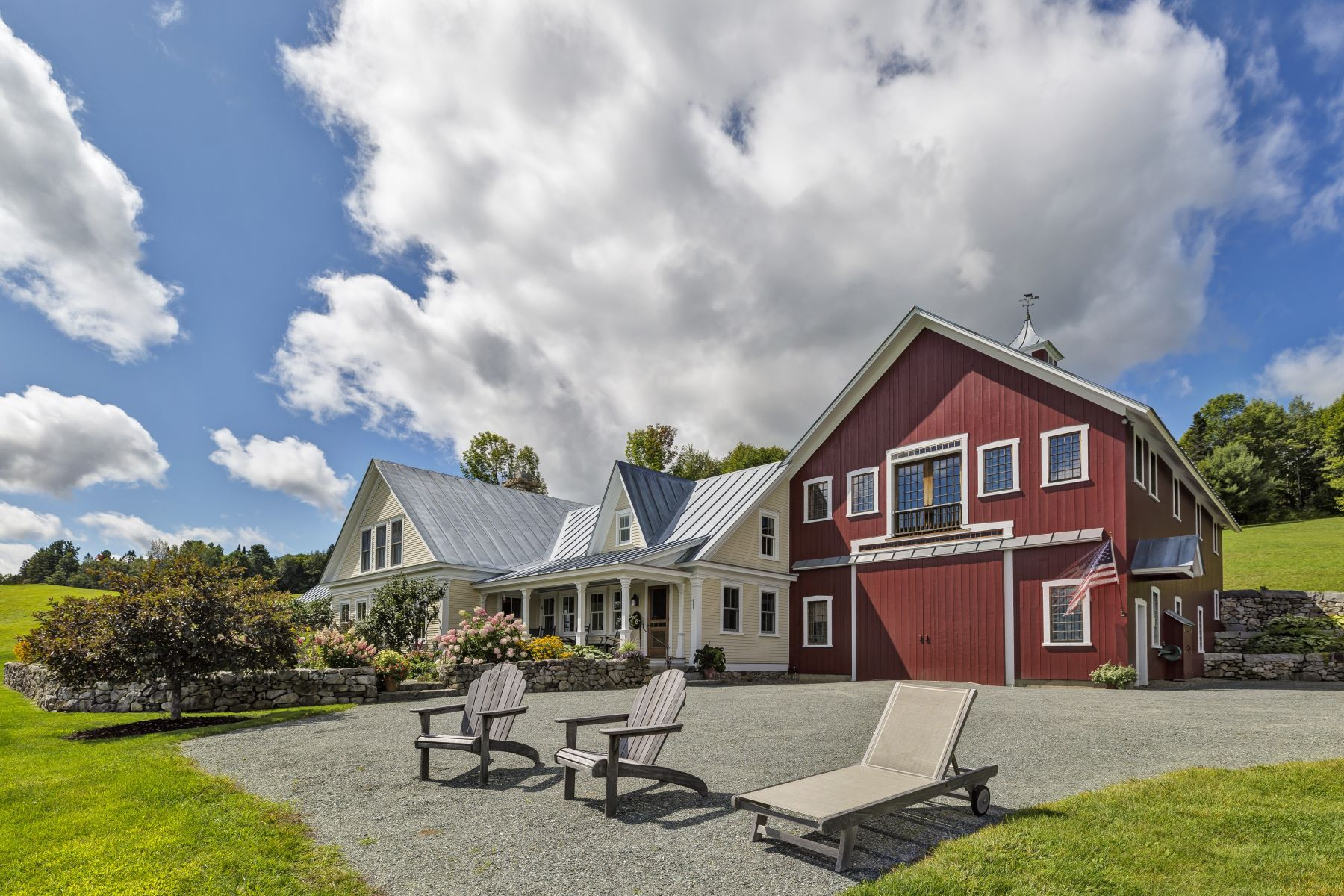Single Family Homes for Sale at Point of View Farm 868 Groton Rd Barnet, Vermont 05862 United States