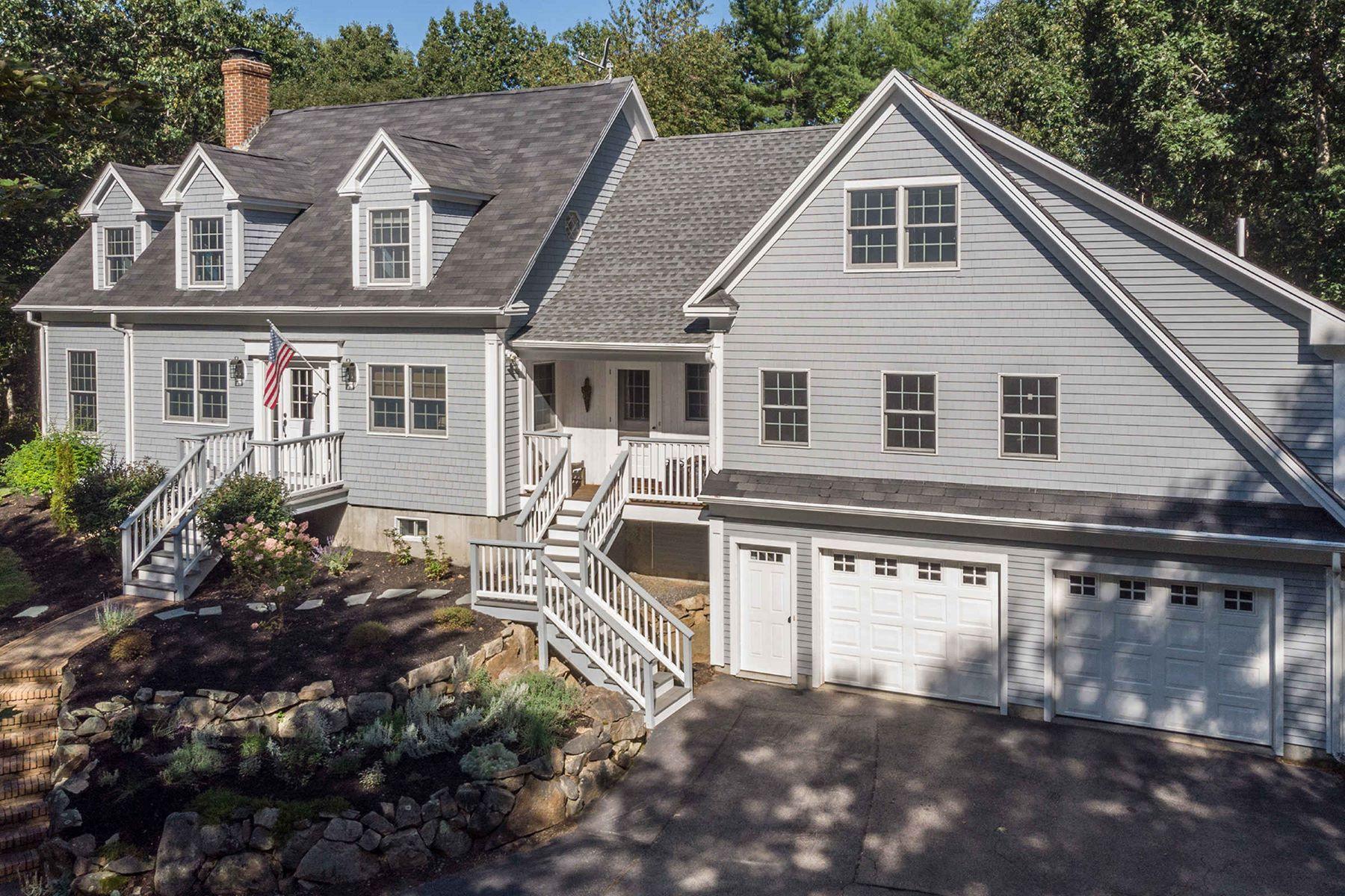 Single Family Homes for Sale at Beautiful Cape in Desirable South Berwick Location 73 Lindsay Lane, South Berwick, Maine 03908 United States