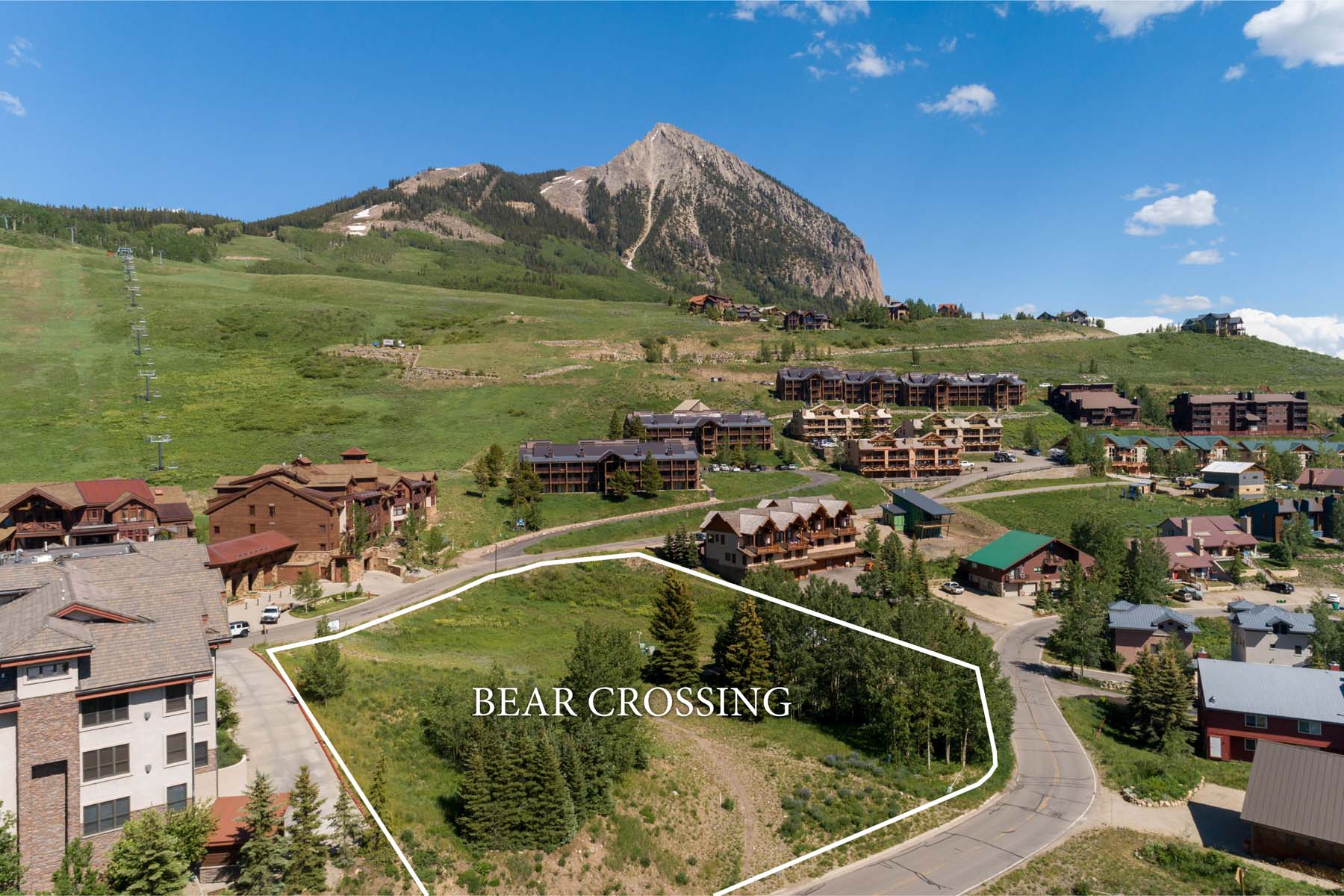 Land for Active at Bear Crossing 14 Castle Road Mount Crested Butte, Colorado 81225 United States