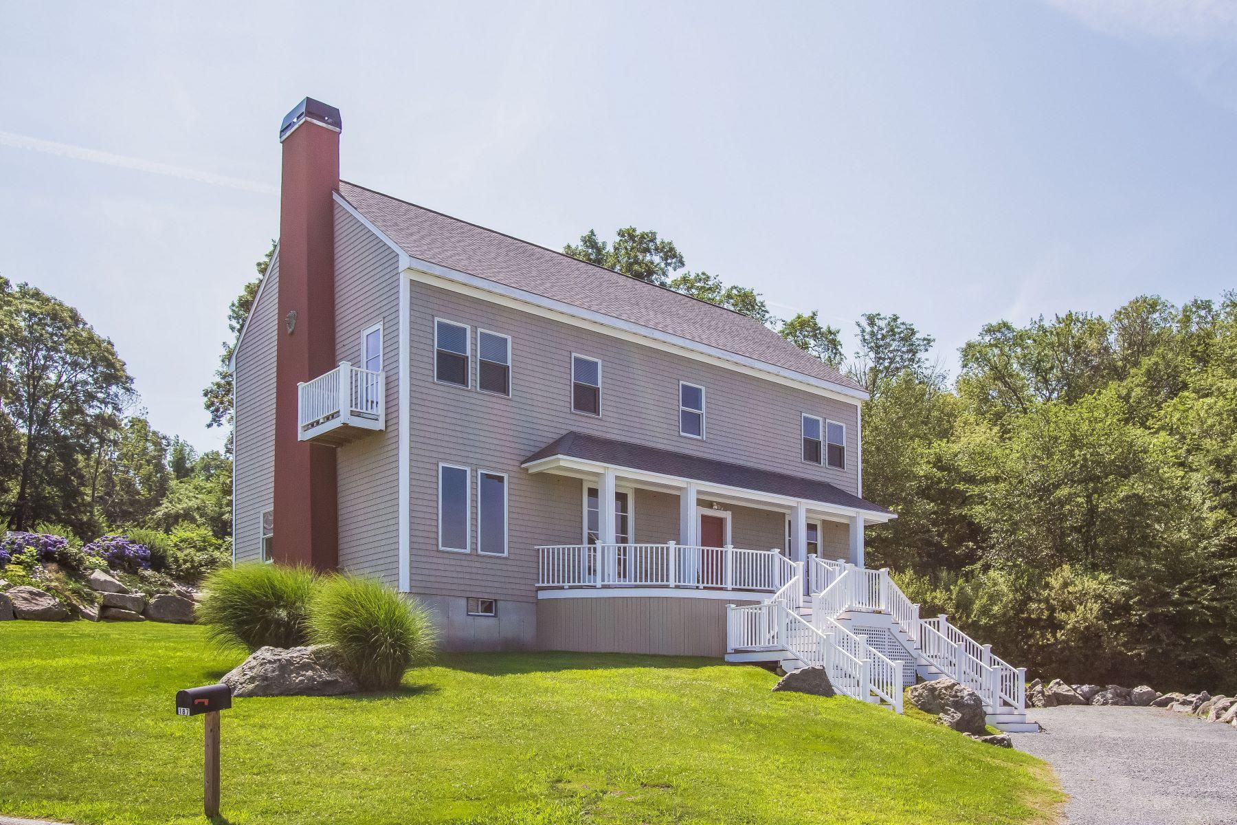 Single Family Homes للـ Sale في 'Waterside' 187 Horizon Drive, Tiverton, Rhode Island 02878 United States
