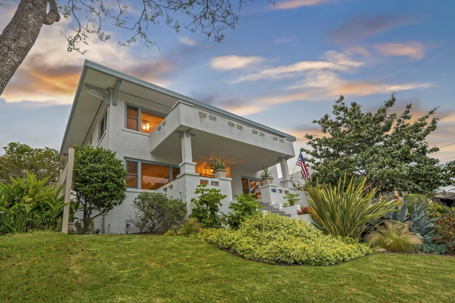 Casa para uma família para Venda às 4024 Saint James Place Mission Hills, San Diego, Califórnia, 92103 Estados Unidos