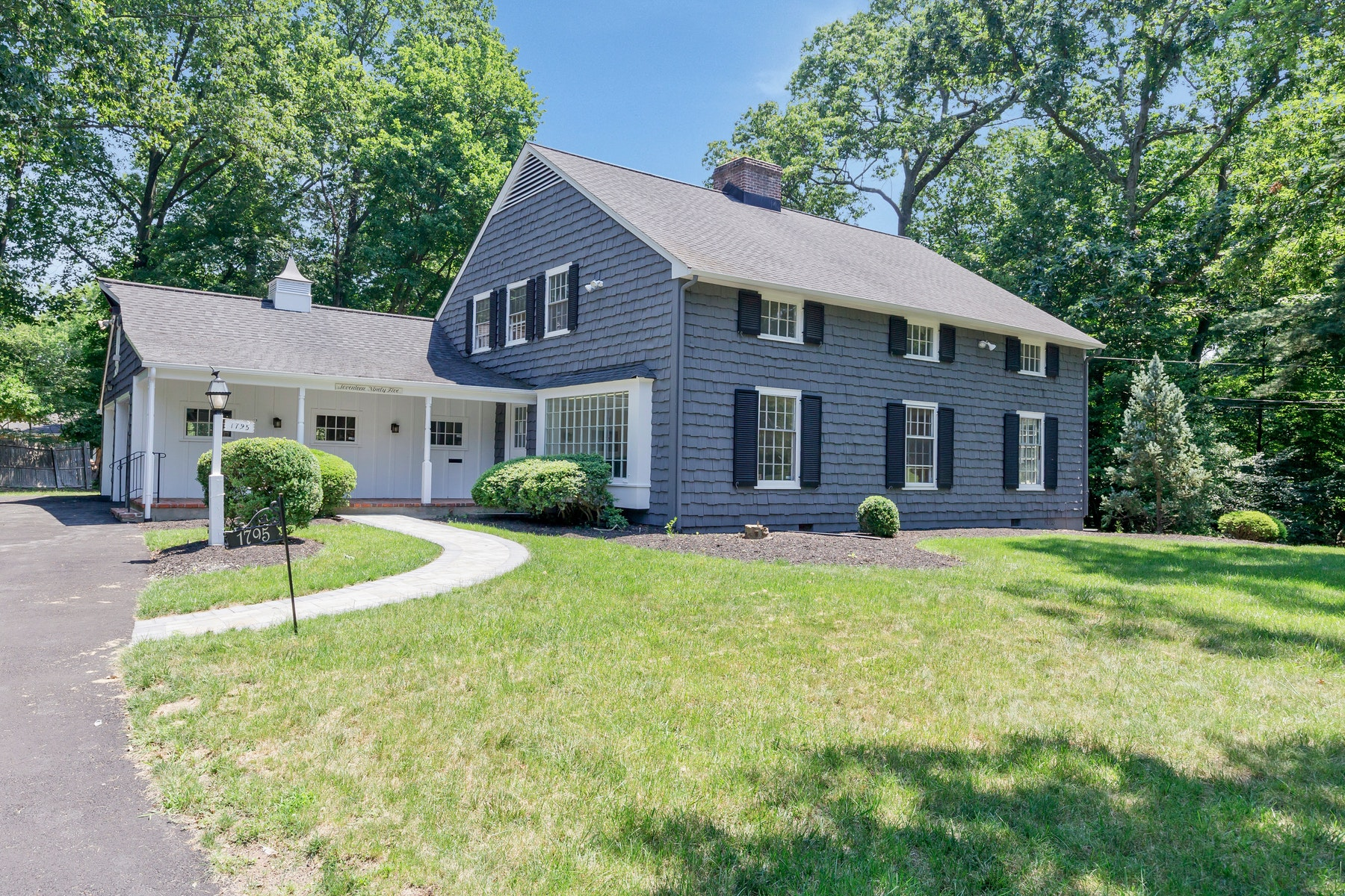 Single Family Home for Sale at Extraordinary Renovated Colonial 1795 Sleepy Hollow Lane Plainfield, New Jersey 07060 United States