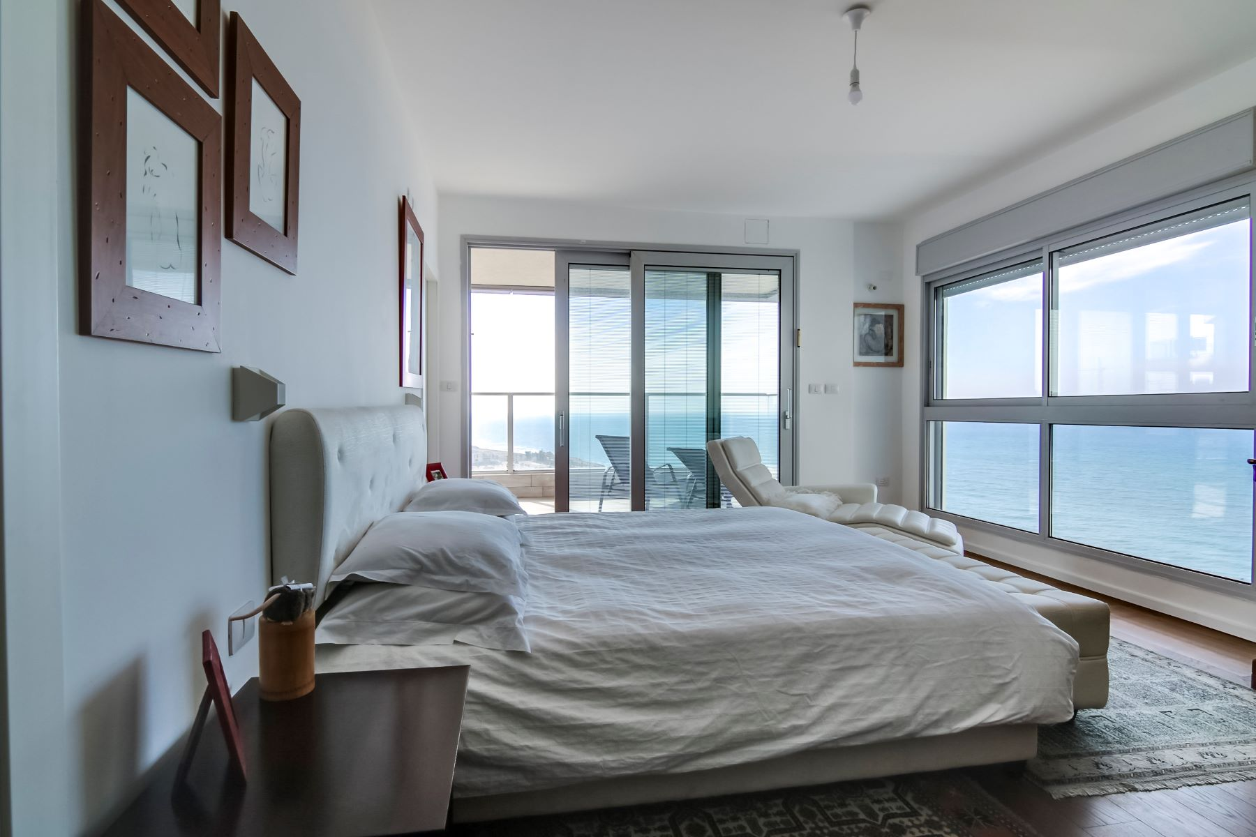 Additional photo for property listing at Serene Sea View Penthouse Netanya, Israel Israel