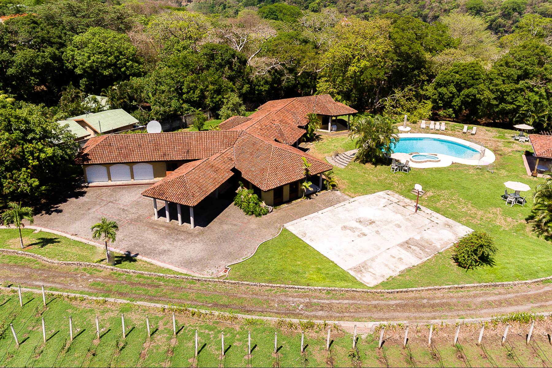 Farm / Ranch / Plantation for Sale at The Vineyard House Atenas, San Jose Costa Rica