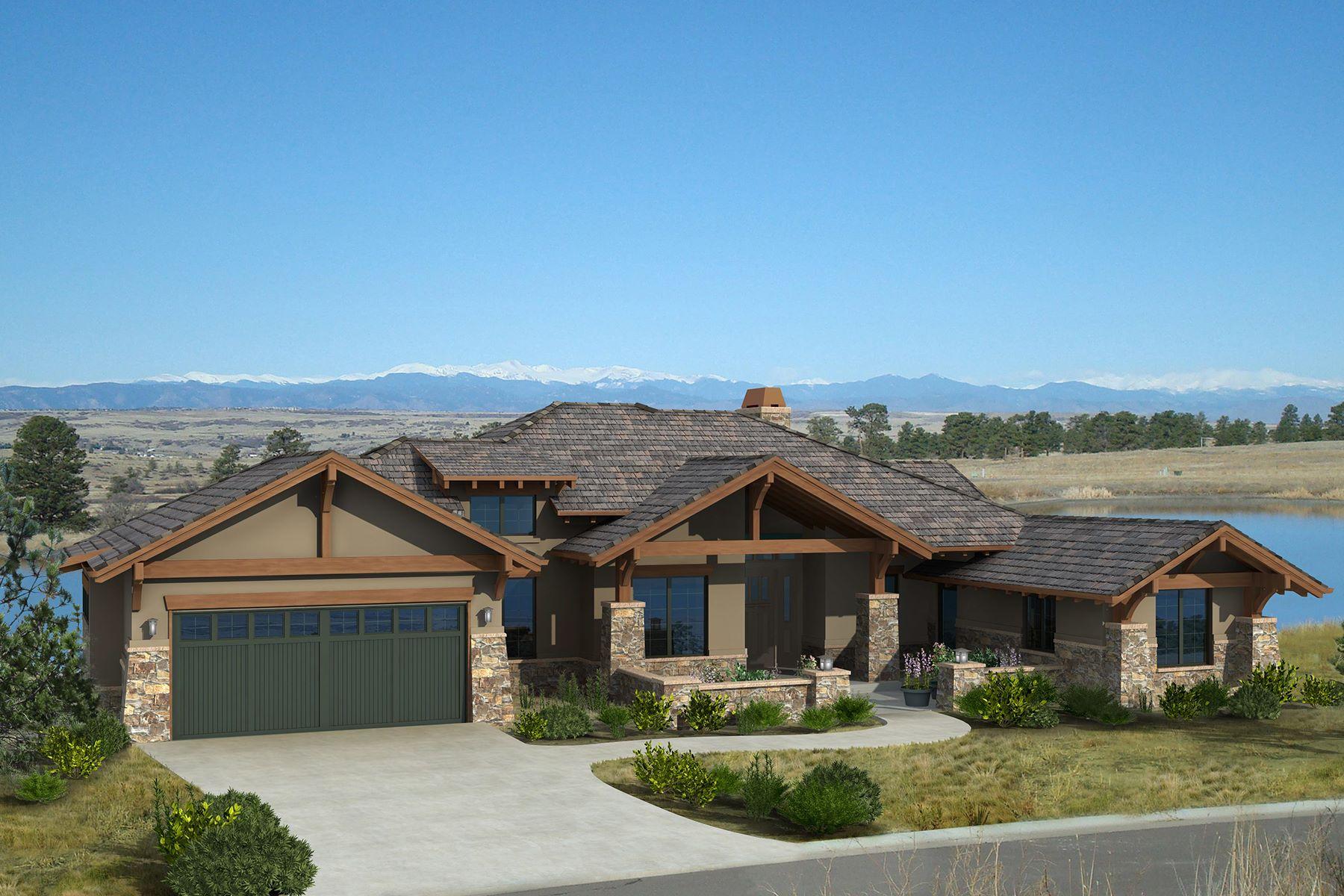 Einfamilienhaus für Verkauf beim Top of the world views from this beautiful home 8776 Eagle Moon Way Parker, Colorado, 80134 Vereinigte Staaten