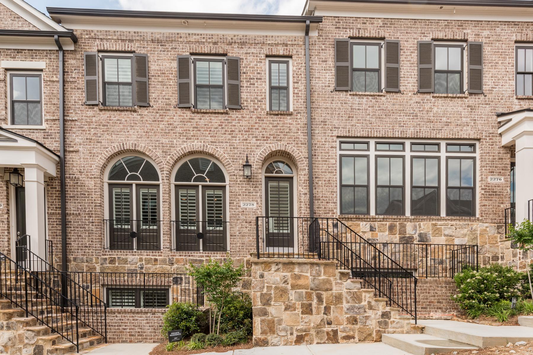 Single Family Home for Sale at Stunning New Custom Designed Townhome 2278 Garrison Street NE Atlanta, Georgia, 30319 United States