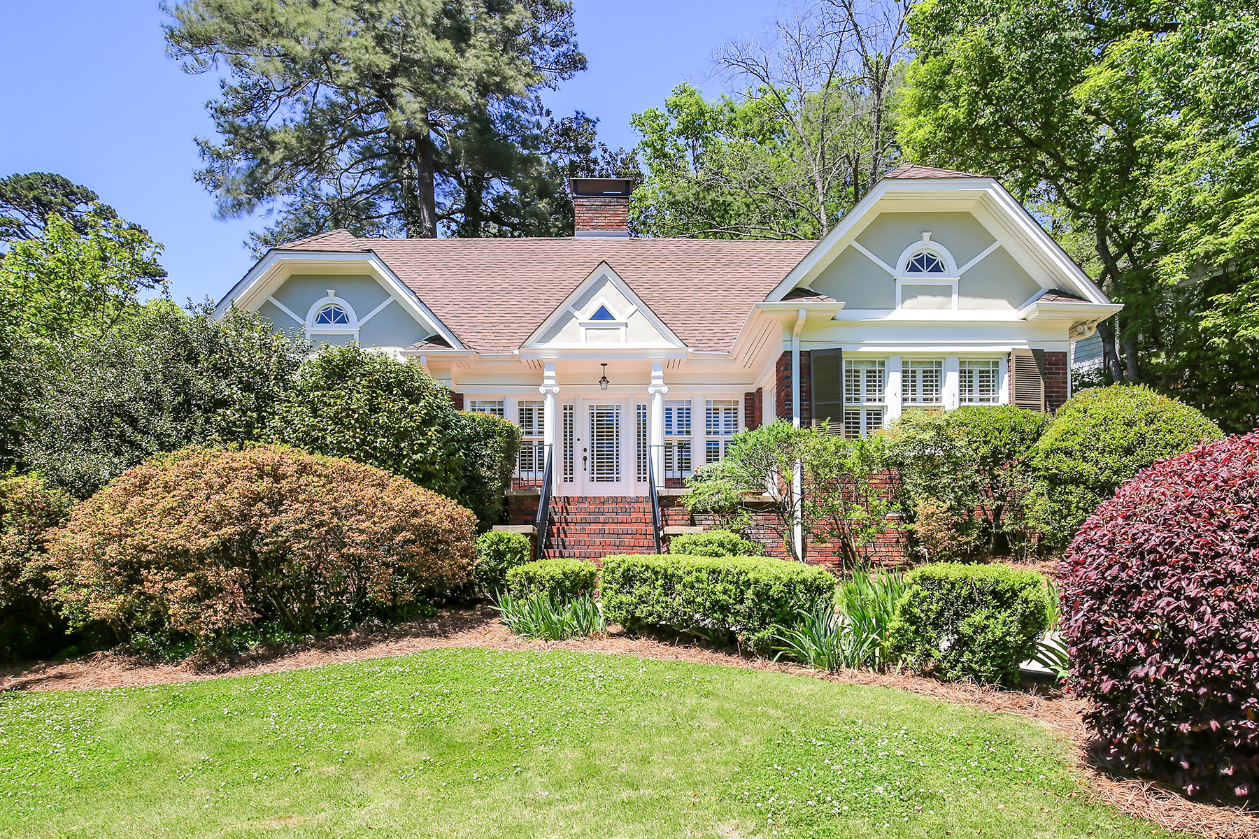 Single Family Home for Sale at Beautiful Tudor Architecture with Modern Updates for Delightful Easy-Living 1202 Clifton Rd Atlanta, Georgia 30307 United States