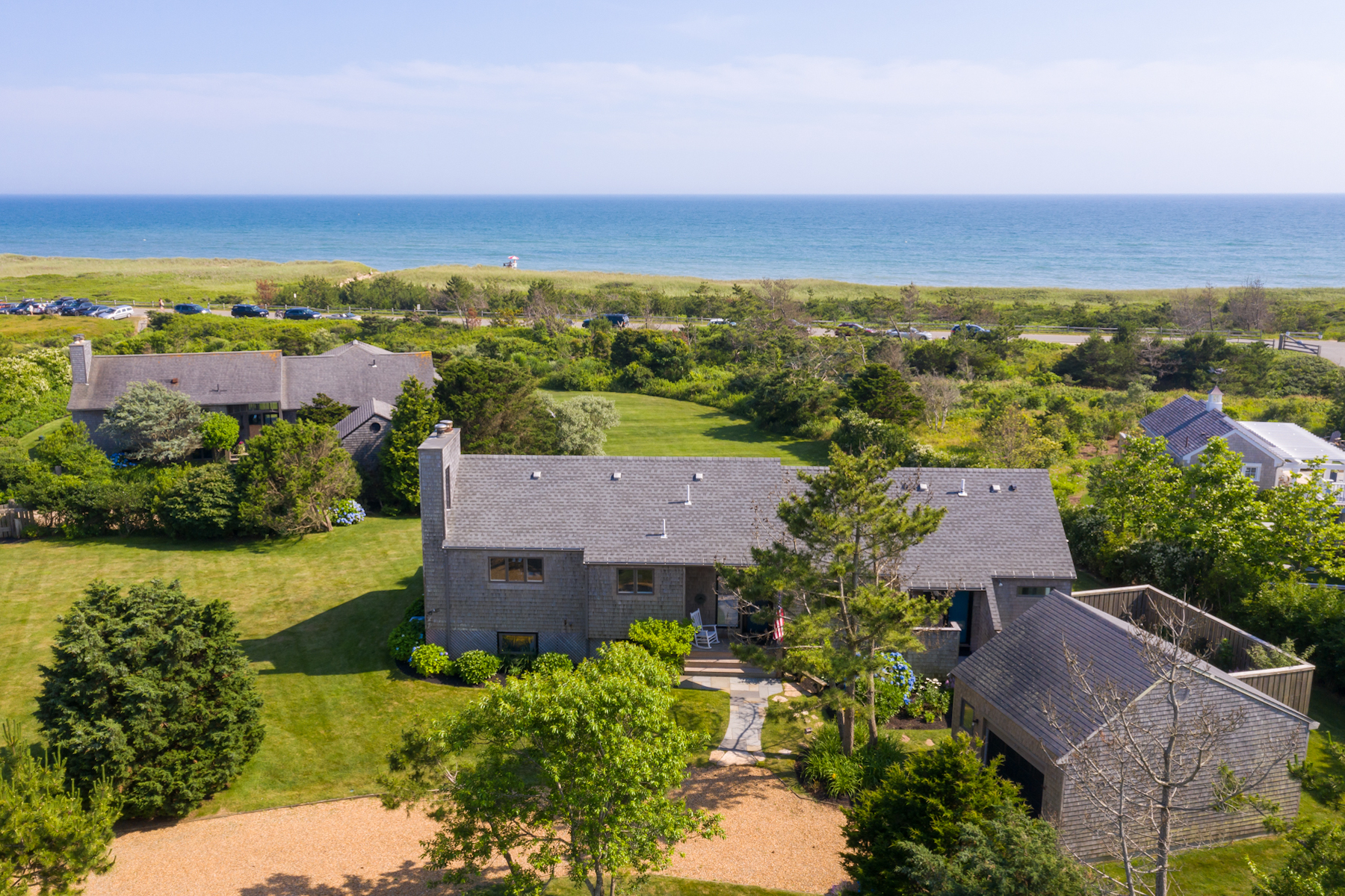Single Family Homes for Active at Beach House in Katama 102 Mattakesett Way Edgartown, Massachusetts 02539 United States