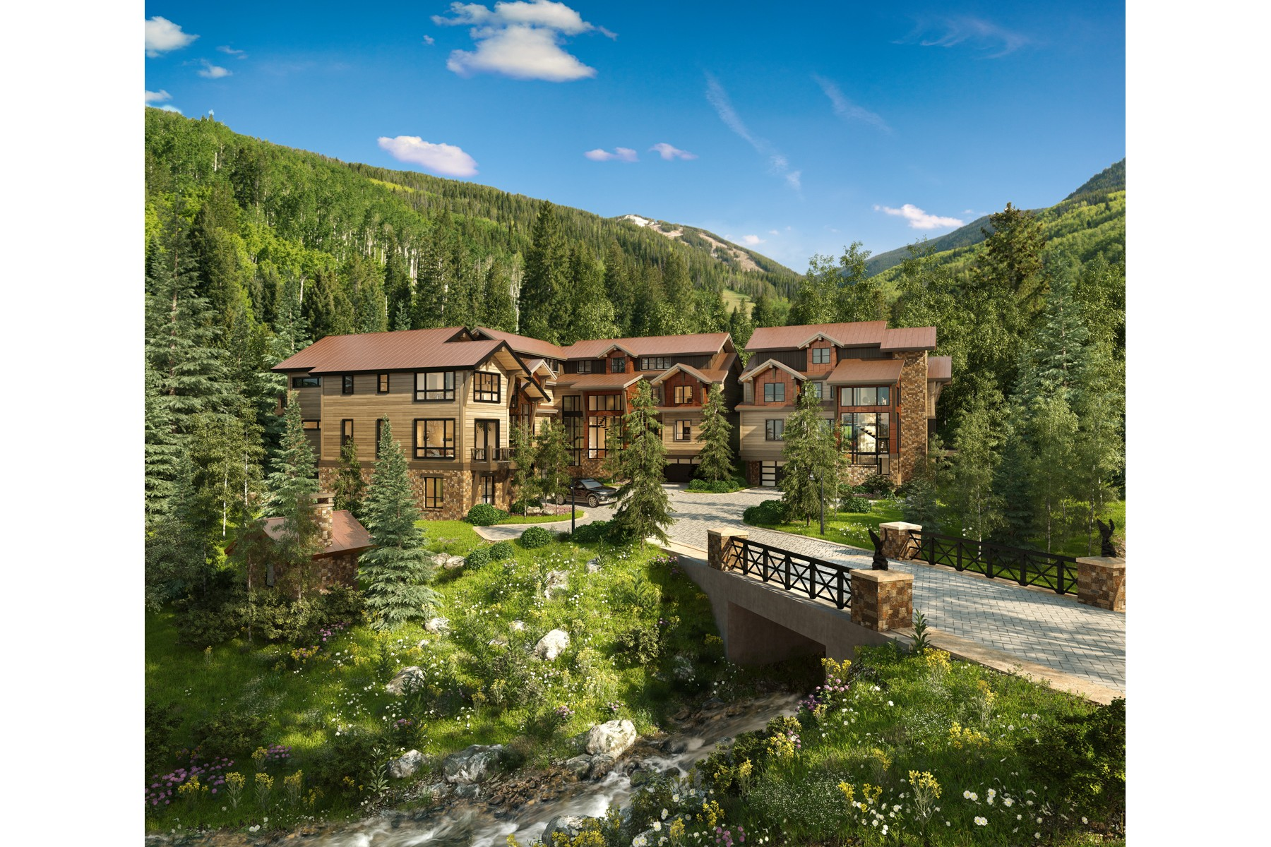 Single Family Home for Active at Peregrine Villas 185 Elk Track Road Beaver Creek, Colorado 81620 United States