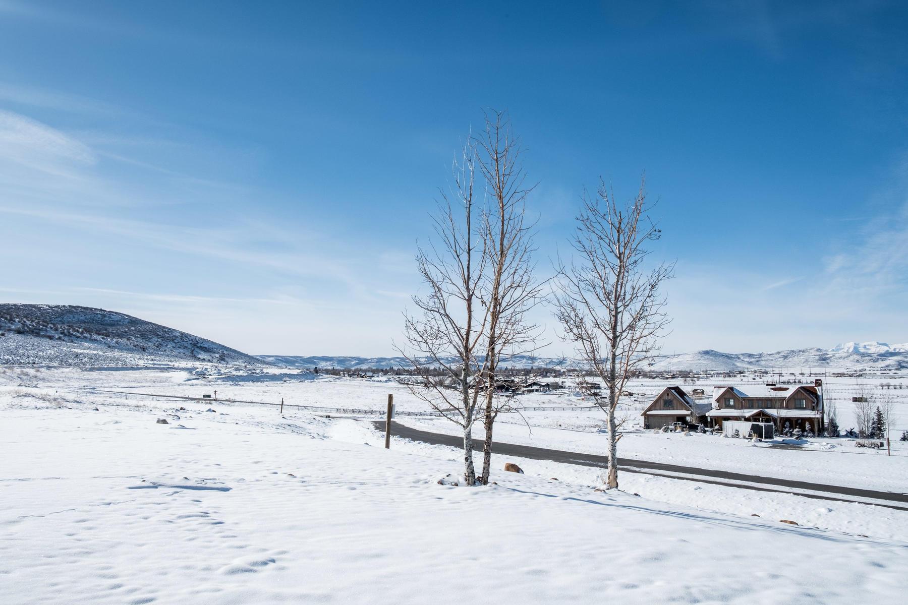 土地,用地 为 销售 在 Custom Home Site in High Star Ranch's North Meadow 1308 Dovetail Dr Lot 11, Kamas, 犹他州, 84036 美国