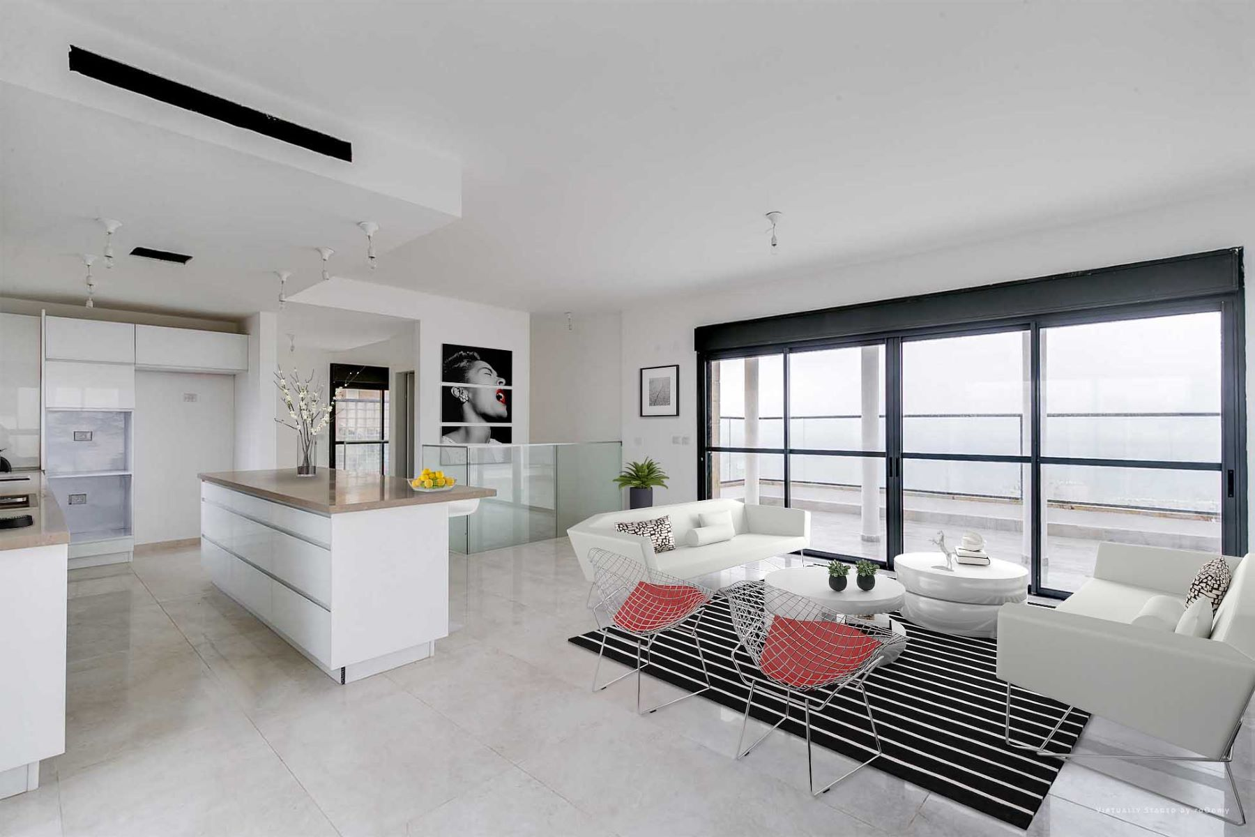 Duplex for Sale at Elegant New Penthouse in Prime Location Jerusalem, Israel