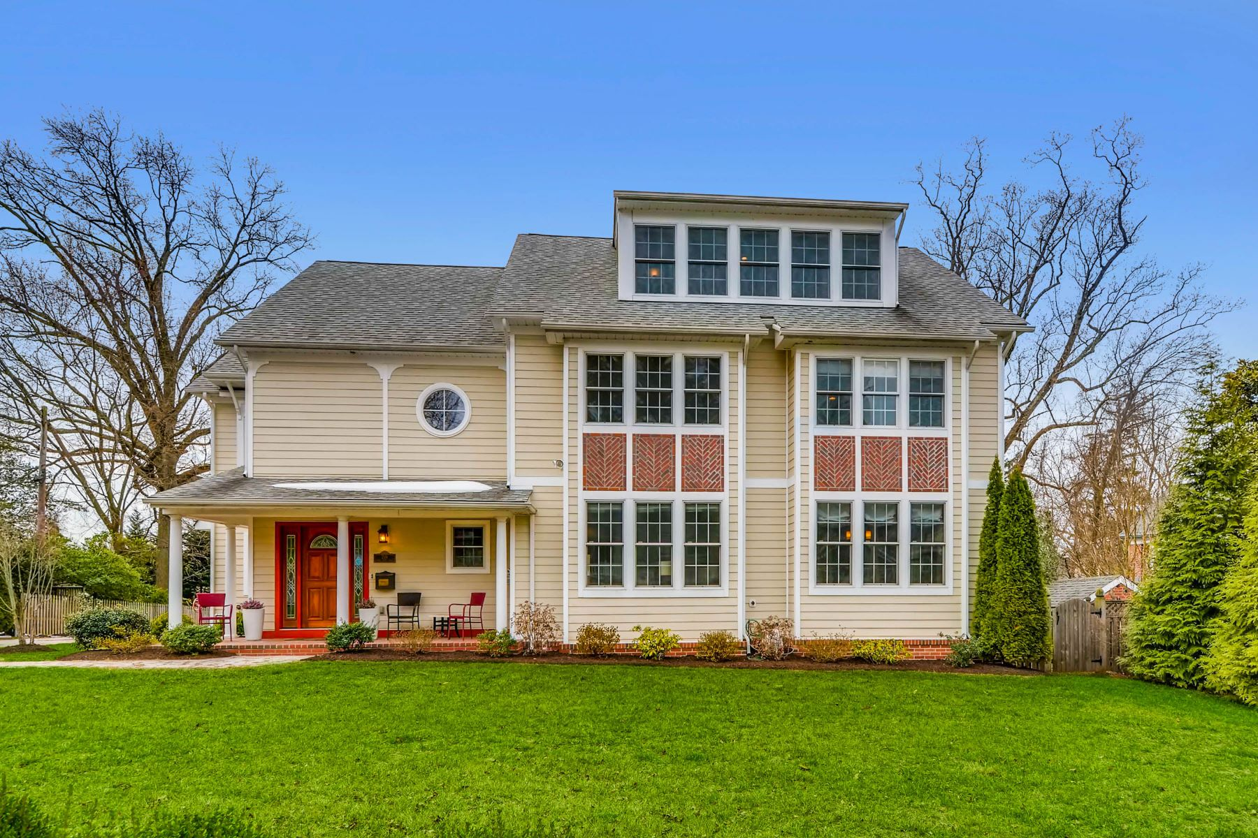 Частный односемейный дом для того Продажа на 709 North Bend Road Towson, Мэриленд 21204 Соединенные Штаты
