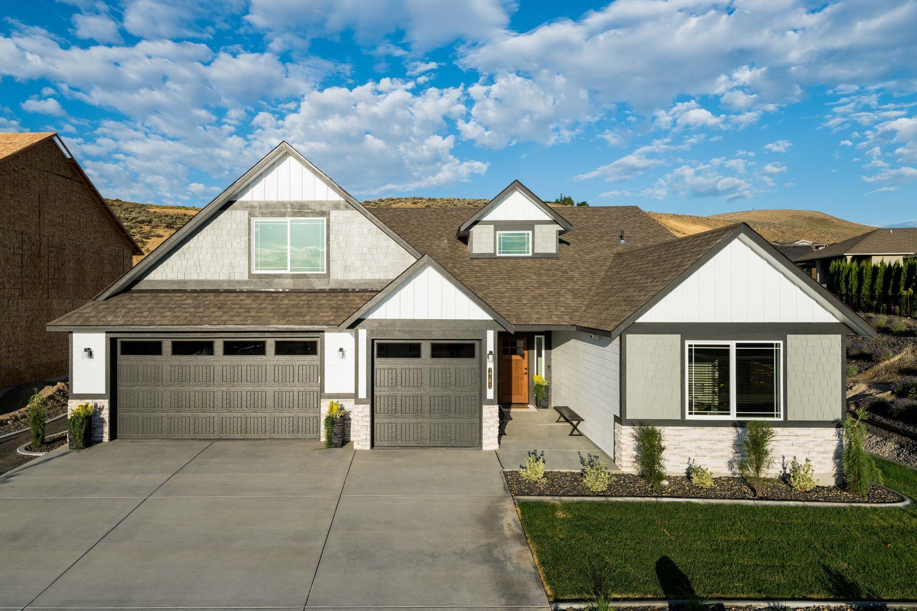 Single Family Homes for Sale at Viking Builders Valiant Plan 1763 Sicily Lane Richland, Washington 99352 United States