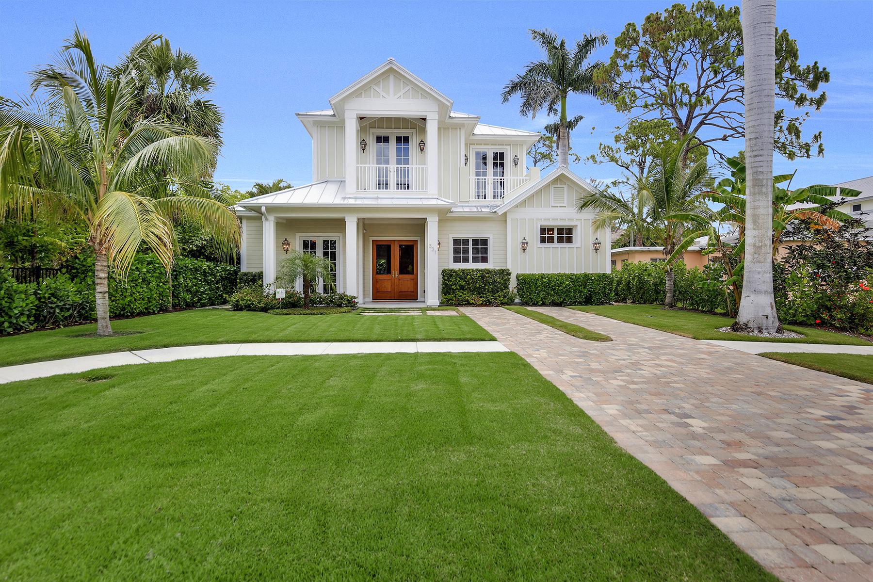獨棟家庭住宅 為 出售 在 OLDE NAPLES 331 1st Ave S Naples, 佛羅里達州 34102 美國