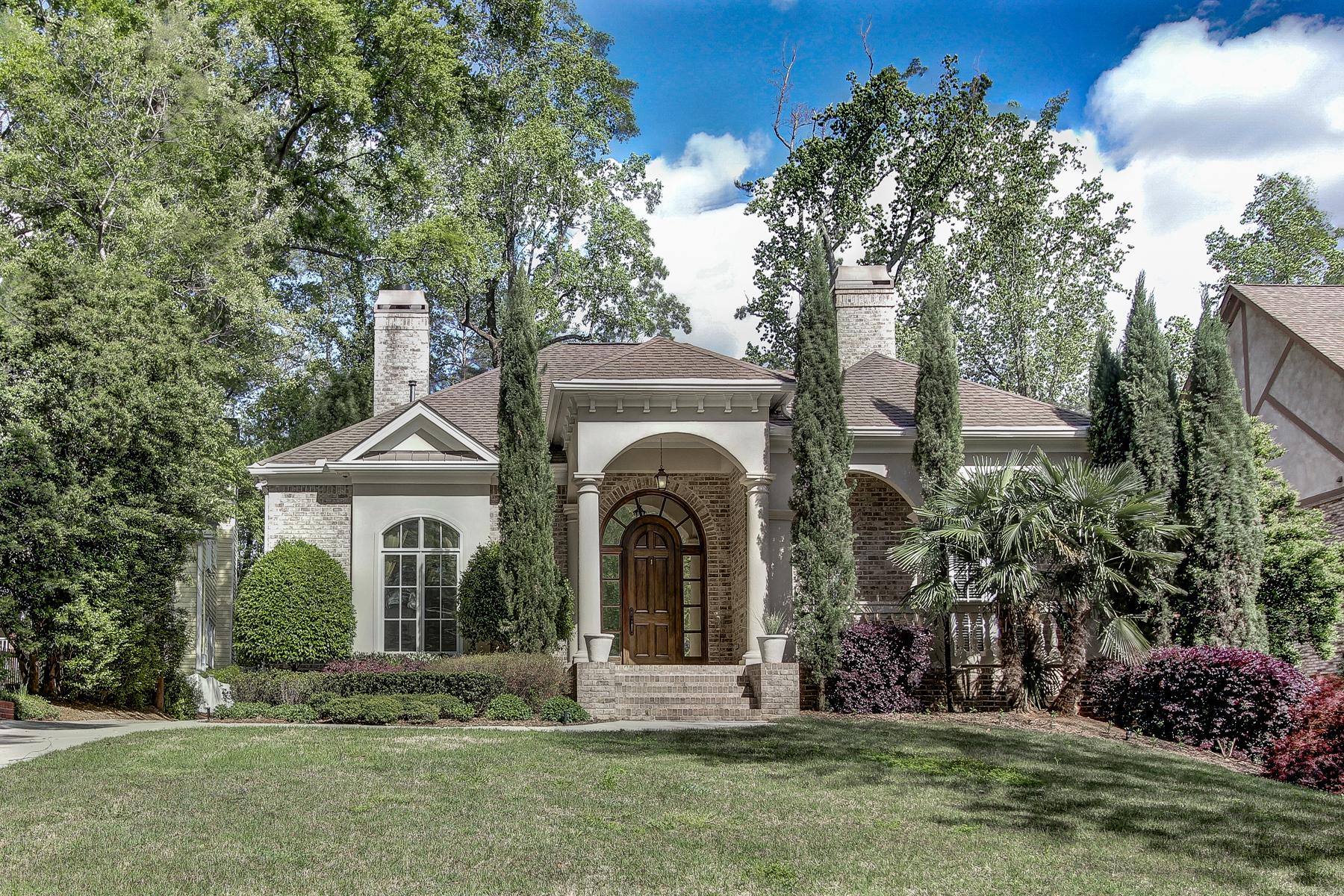 Частный односемейный дом для того Аренда на Beautiful Buckhead Masterpiece 4169 Carmain Drive NE Buckhead, Atlanta, Джорджия, 30342 Соединенные Штаты