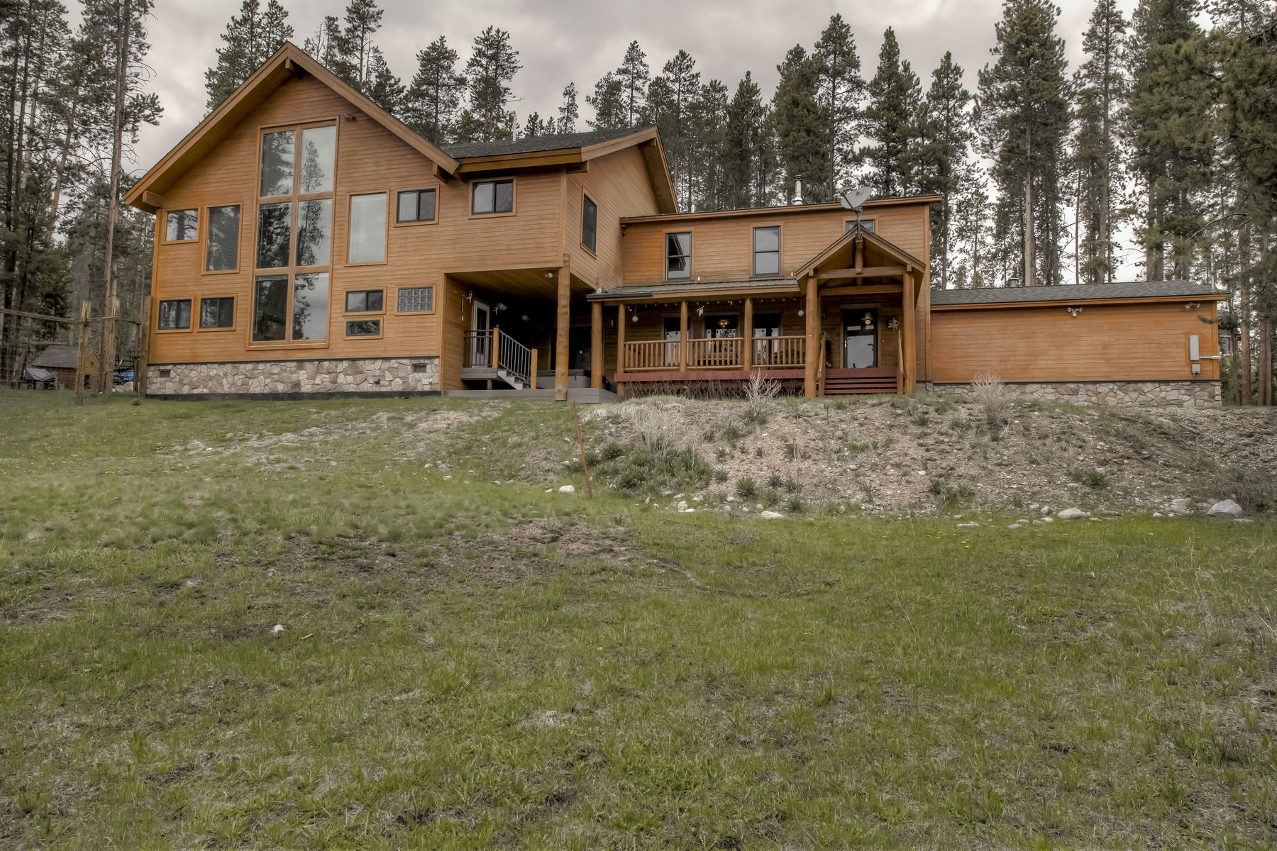 Single Family Homes for Sale at 13 Acre Treed Lot with Lake Views 222 GCR 466, Grand Lake, Colorado 80447 United States