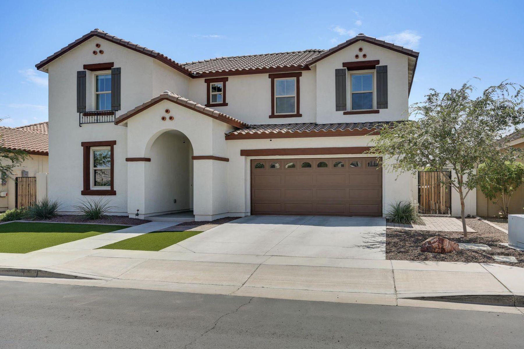 Single Family Homes por un Venta en Lehi Crossing 2849 E QUENTON ST Mesa, Arizona 85213 Estados Unidos