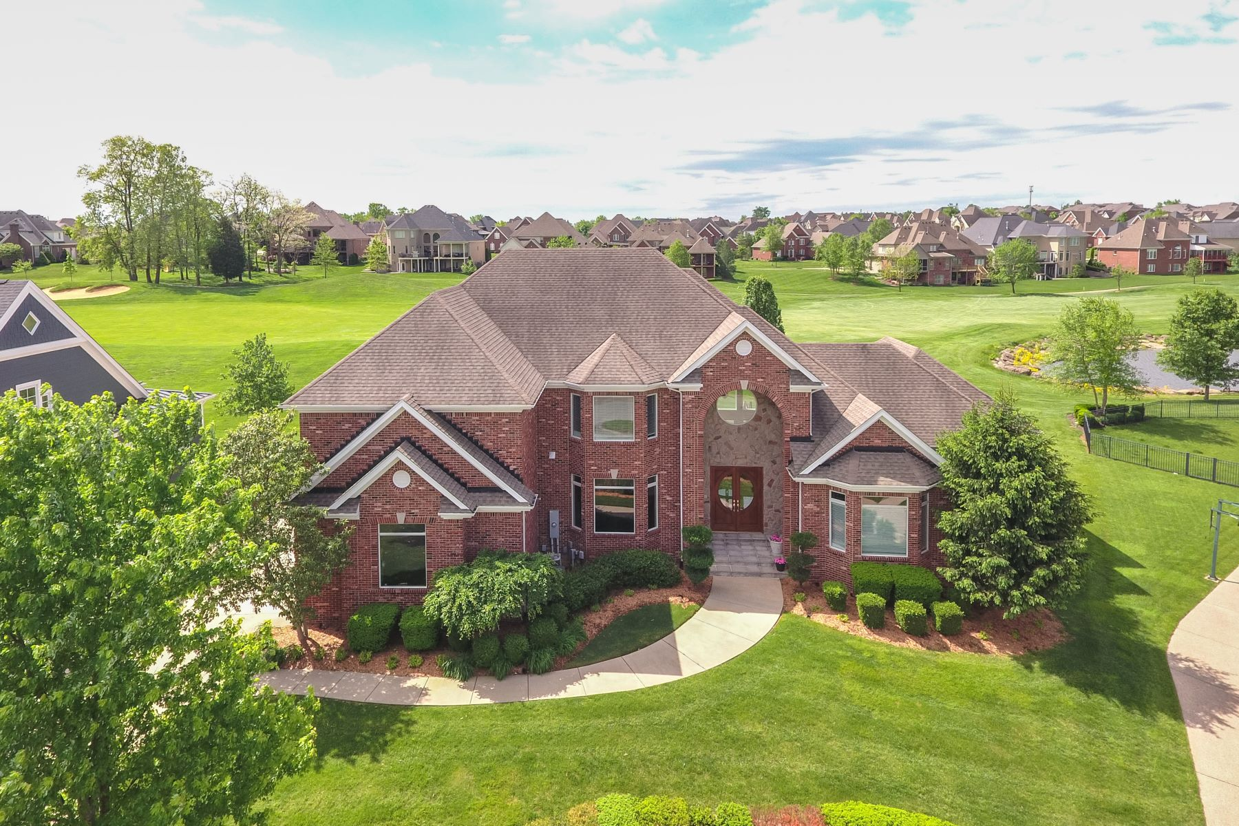 Single Family Home for Sale at 15102 Meadow Farms Court Louisville, Kentucky 40245 United States
