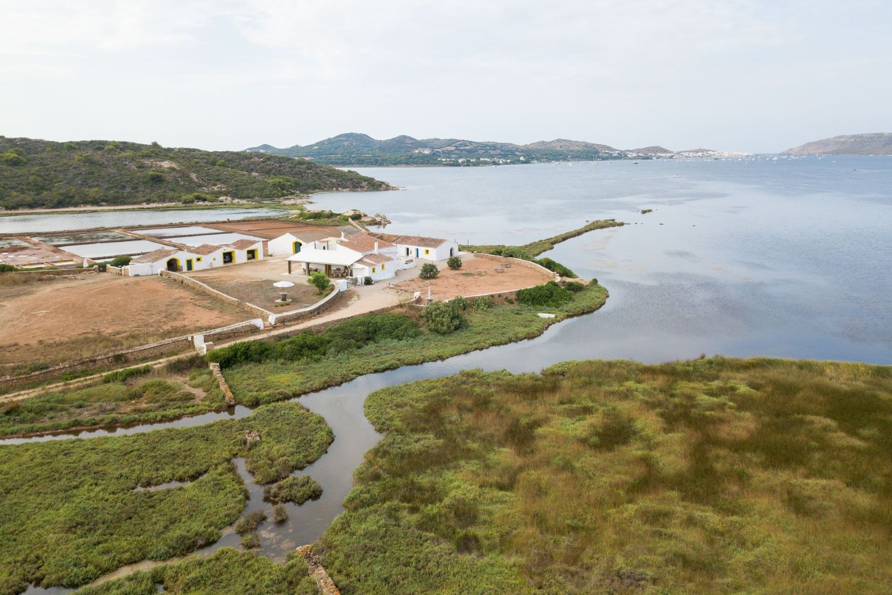Single Family Home for Sale at Amazing property with Salinas in Fornells Menorca, Menorca Spain