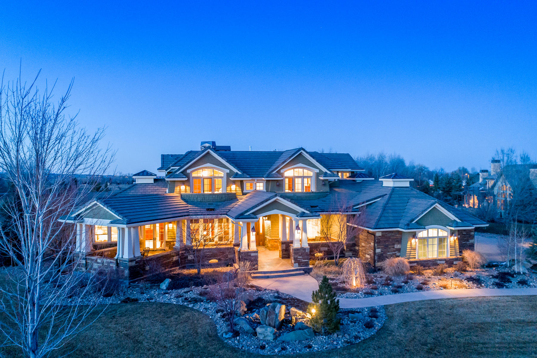 Single Family Home for Active at Incredible Views In White Hawk Ranch 1459 White Hawk Ranch Dr. Boulder, Colorado 80303 United States