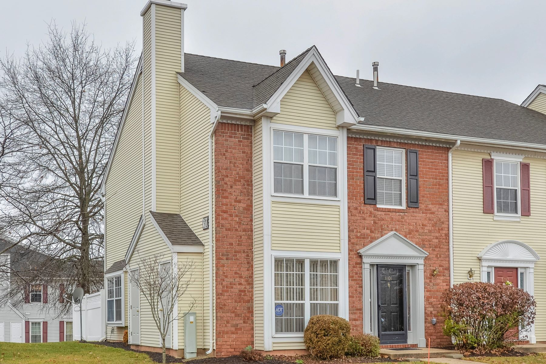townhouses for Sale at Spacious And Sunny End Unit 3101 Winder Drive Bridgewater, New Jersey 08807 United States