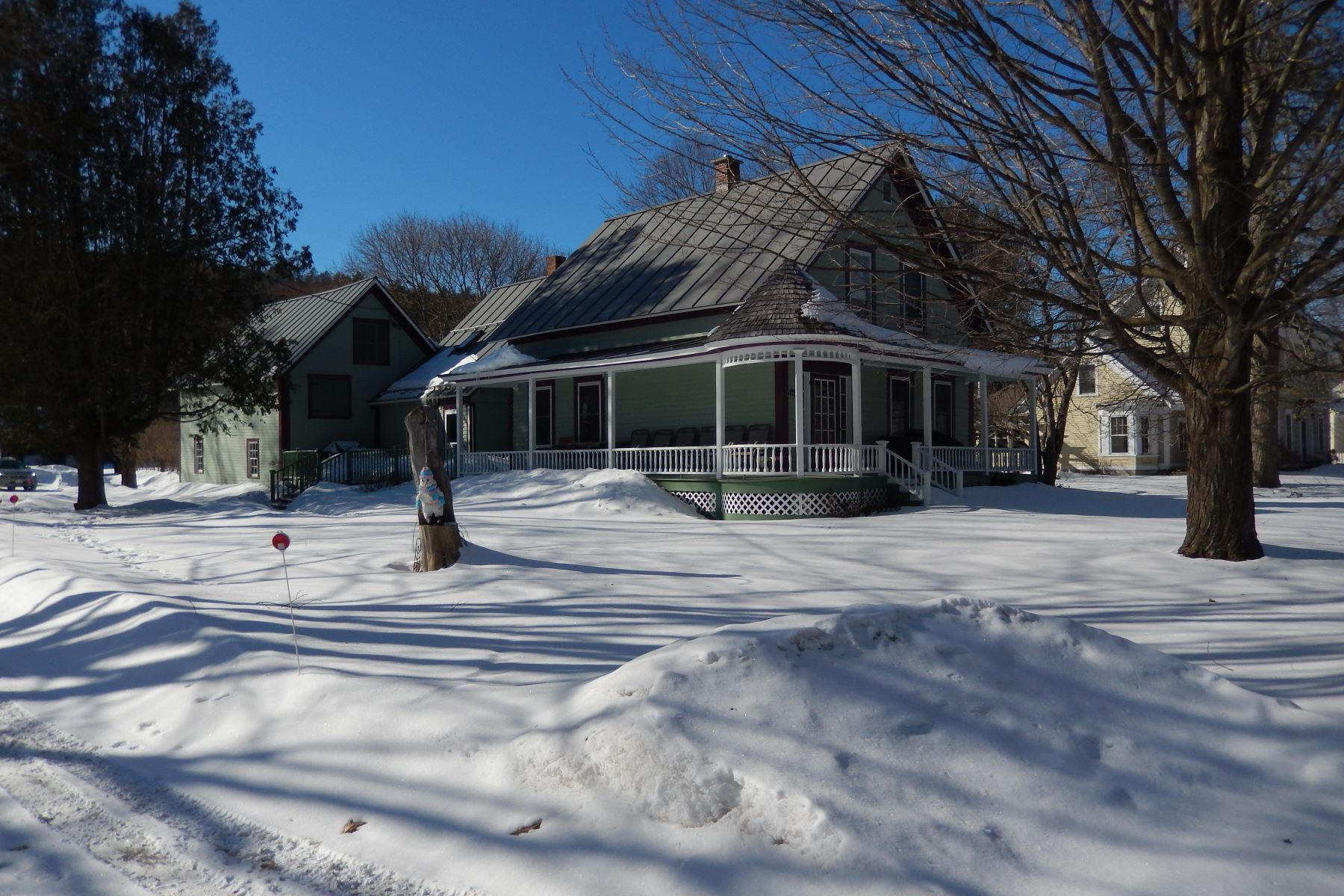 Single Family Home for Sale at Three Bedroom Victorian in Newbury 5294 Main Street South Newbury, Vermont 05051 United States