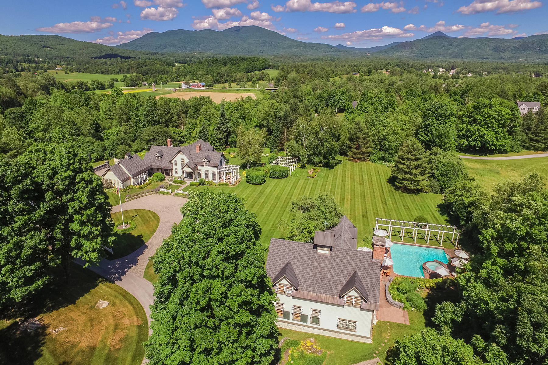 Single Family Homes for Sale at Vermont Oasis-Private-Entertainment Barn - Pool 9 Abbey Lane 4 Rutland Town, Vermont 05701 United States