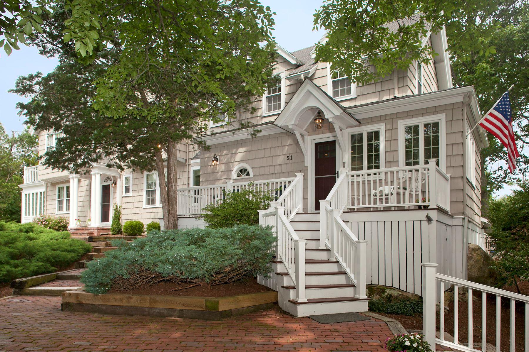 Casa Unifamiliar por un Venta en Cohasset Classic 51 Jerusalem Rd. Dr. Cohasset, Massachusetts, 02025 Estados Unidos