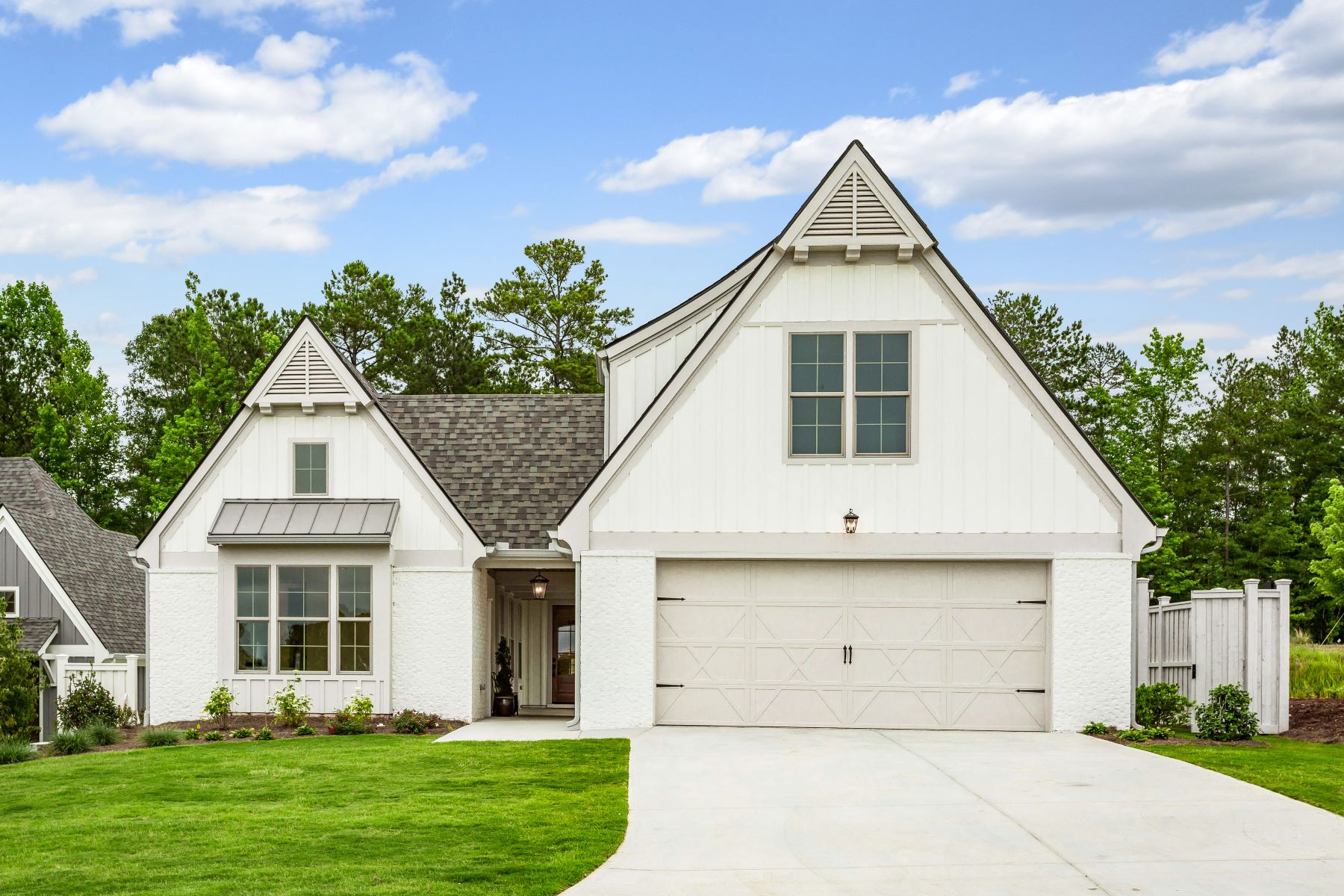 Single Family Homes for Active at New Construction Ranch With A Courtyard in 55+ Community! 15 Arbor Garden Circle Newnan, Georgia 30265 United States