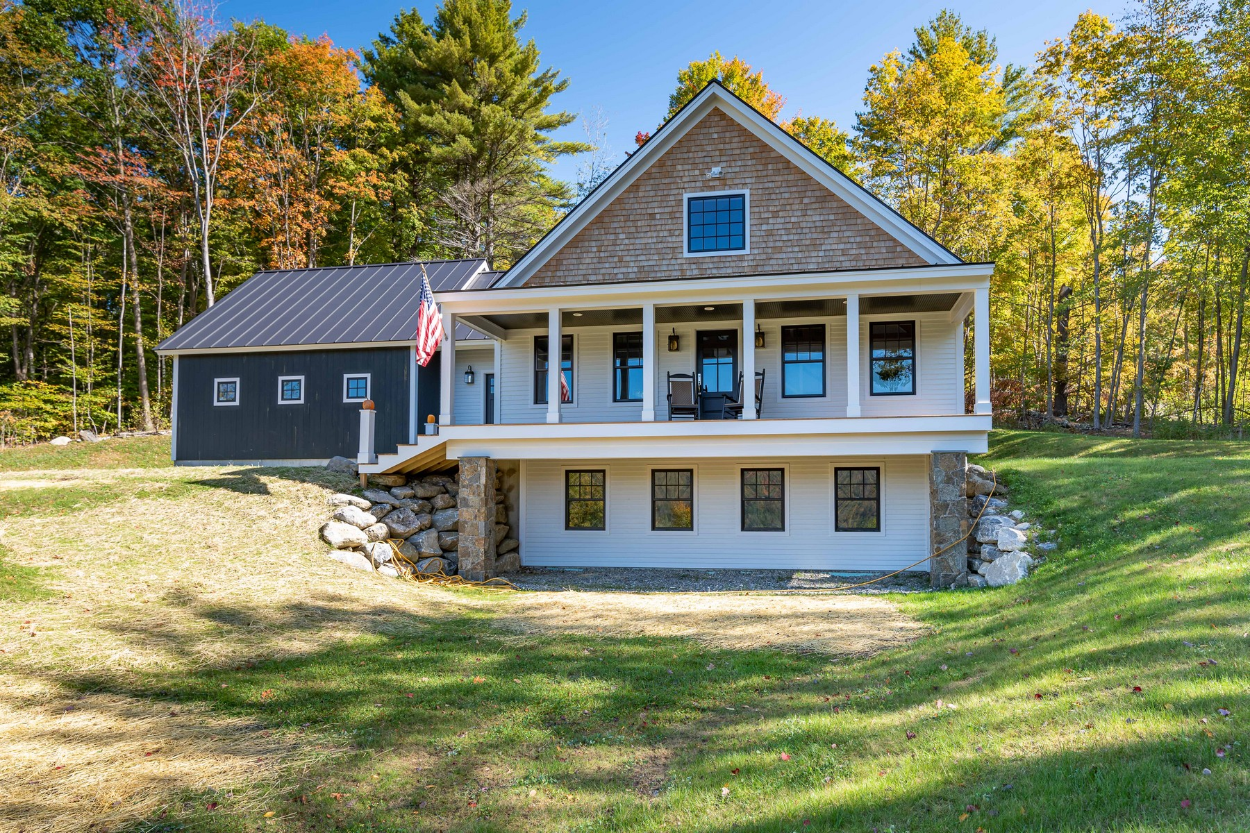 Single Family Homes for Sale at Brand New Construction-Pristine with Views Long View Rd Dorset, Vermont 05251 United States