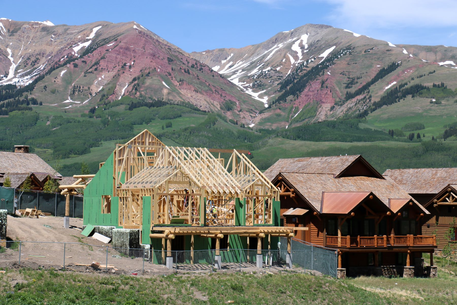 Maison unifamiliale pour l Vente à Wildhorse at Prospect 16 Appaloosa Road Mount Crested Butte, Colorado, 81225 États-Unis