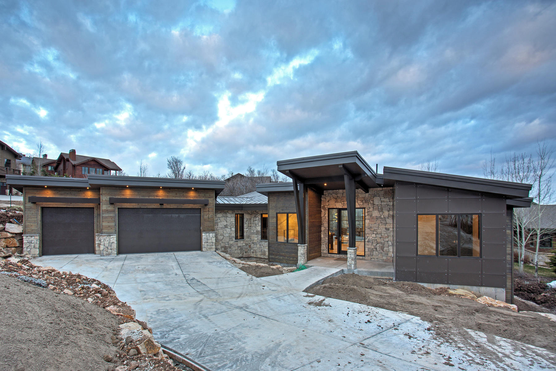 Single Family Home for Sale at New Contemporary Construction in Royal Oaks at Deer Valley 3775 Sun Ridge Dr Park City, Utah 84060 United States