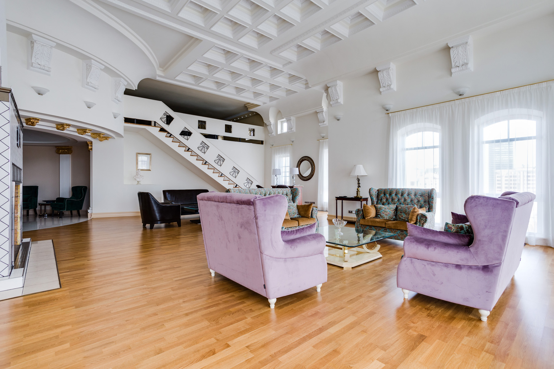 "Apartments için Kiralama at Penthouse of 537 sq. m. in ""Novopeskovsky"" Residential Complex Moscow, Moskova Rusya"