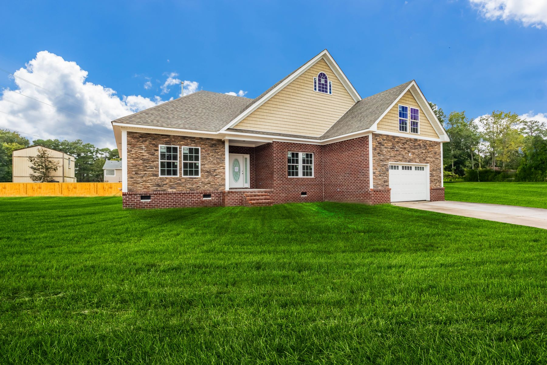 Single Family Homes for Active at Drum Creek Farms 2411 Mandolin Ct Chesapeake, Virginia 23321 United States