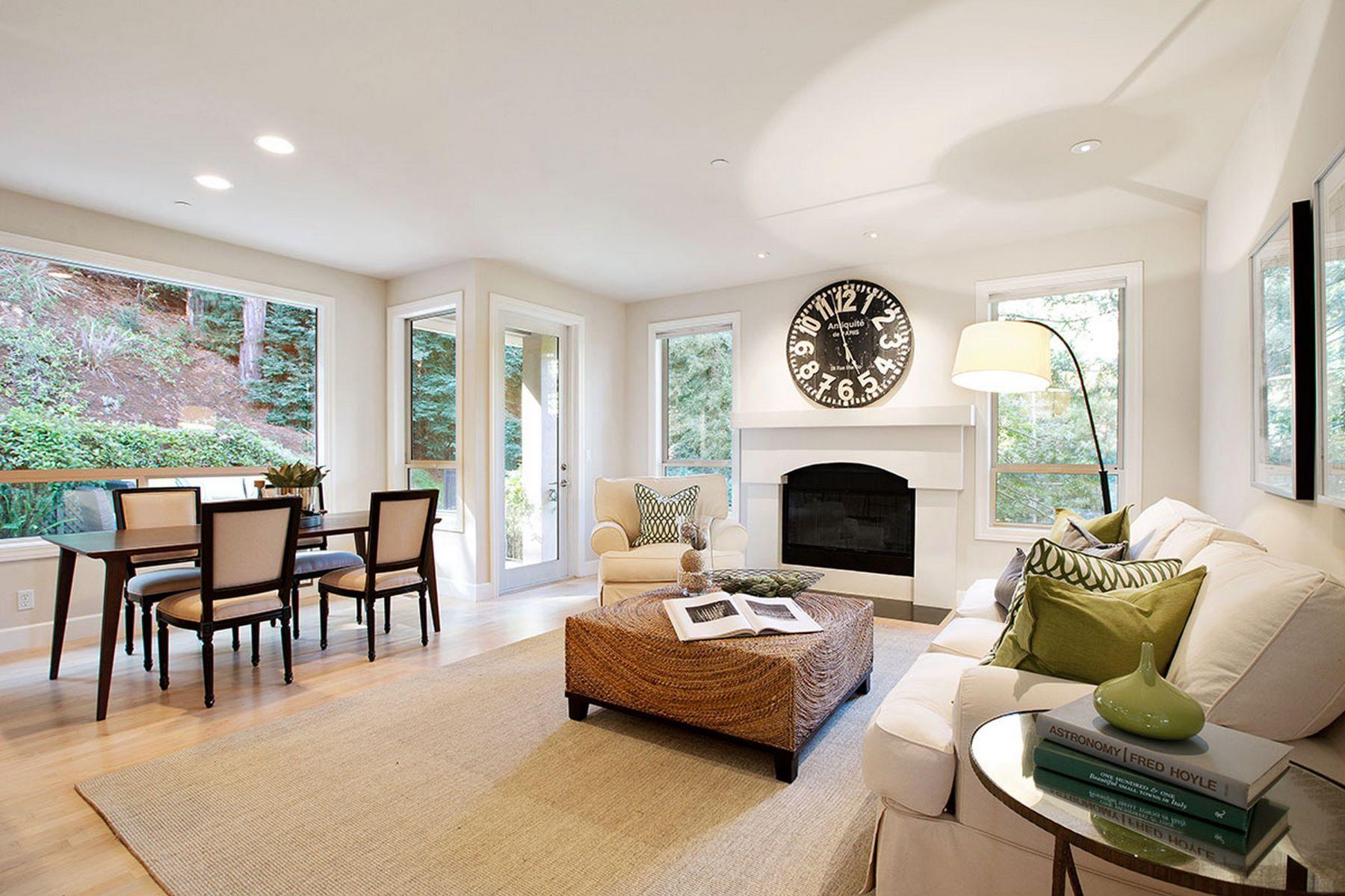 Частный односемейный дом для того Продажа на Architecturally Stunning Private Estate 255 Ralston Avenue Mill Valley, Калифорния 94941 Соединенные Штаты