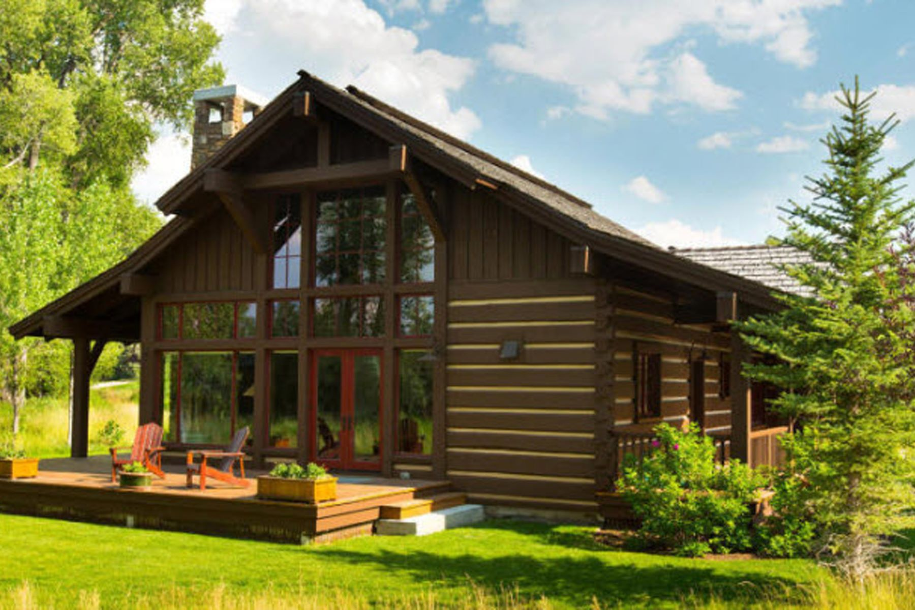 Single Family Home for Sale at Rare Find 833 Arnica Ct, Jackson, Wyoming, 83001 Jackson Hole, United States