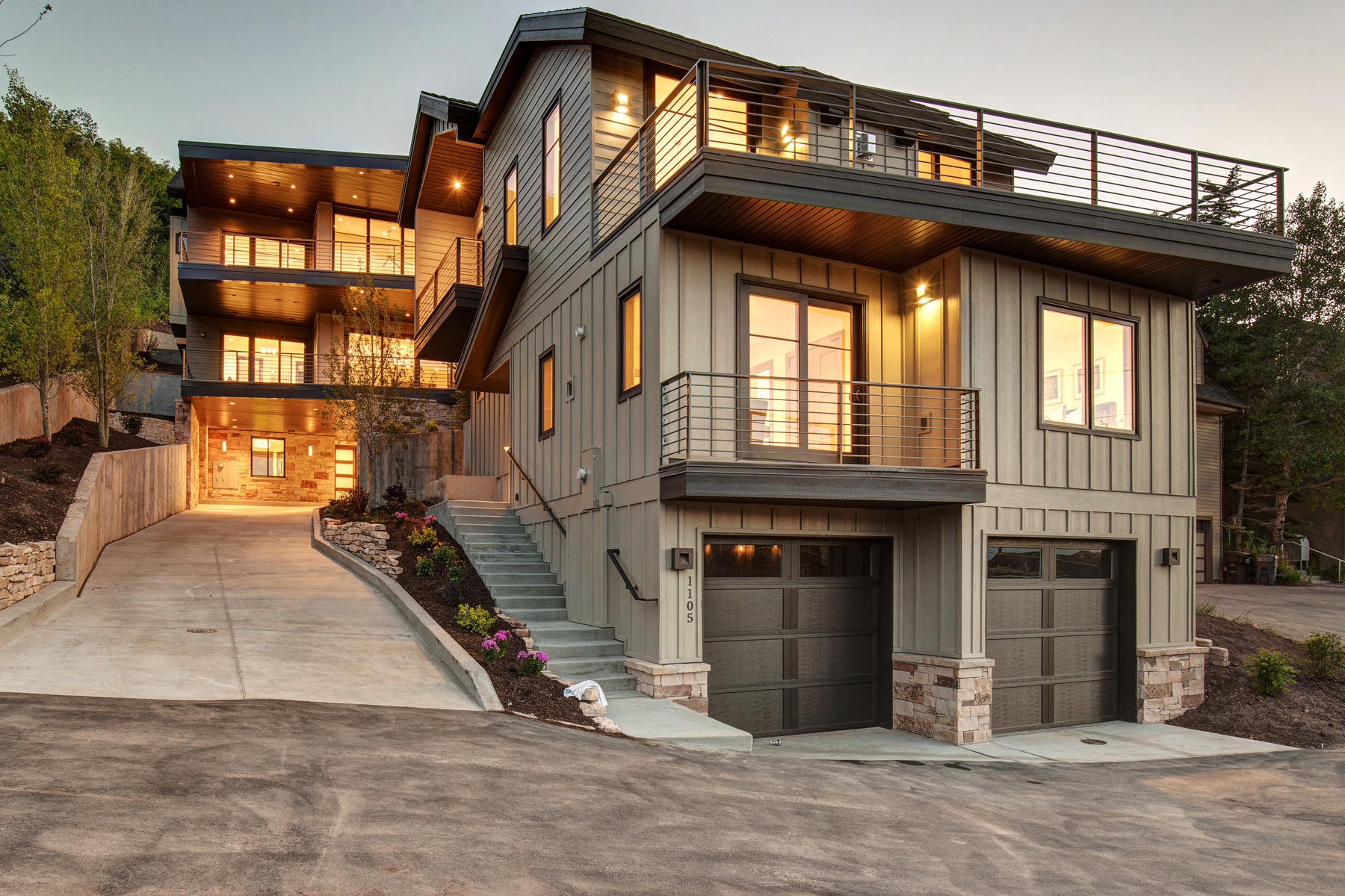 Single Family Home for Sale at New Construction in Old Town 1105 Lowell Ave Park City, Utah, 84060 United States