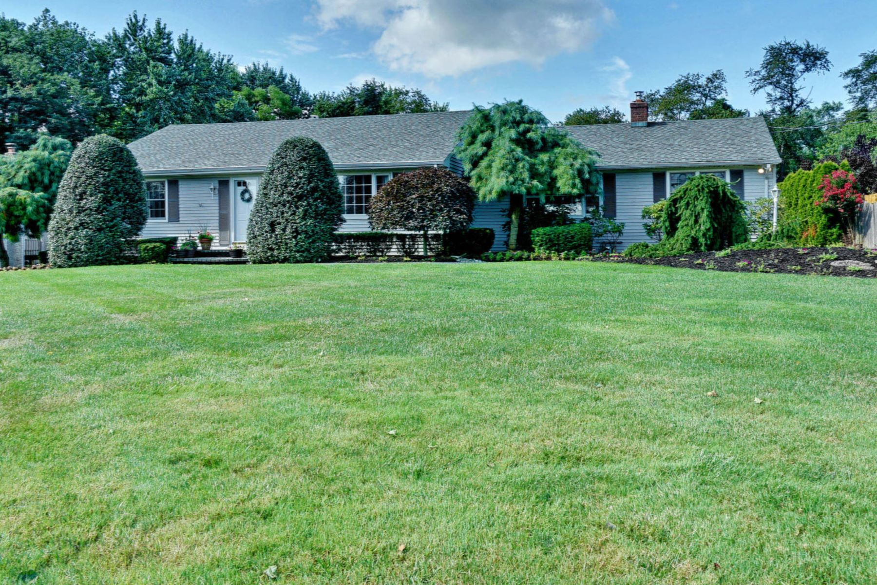 Single Family Homes for Sale at Beautiful Custom Ranch 432 E Freehold Road Freehold, New Jersey 07728 United States