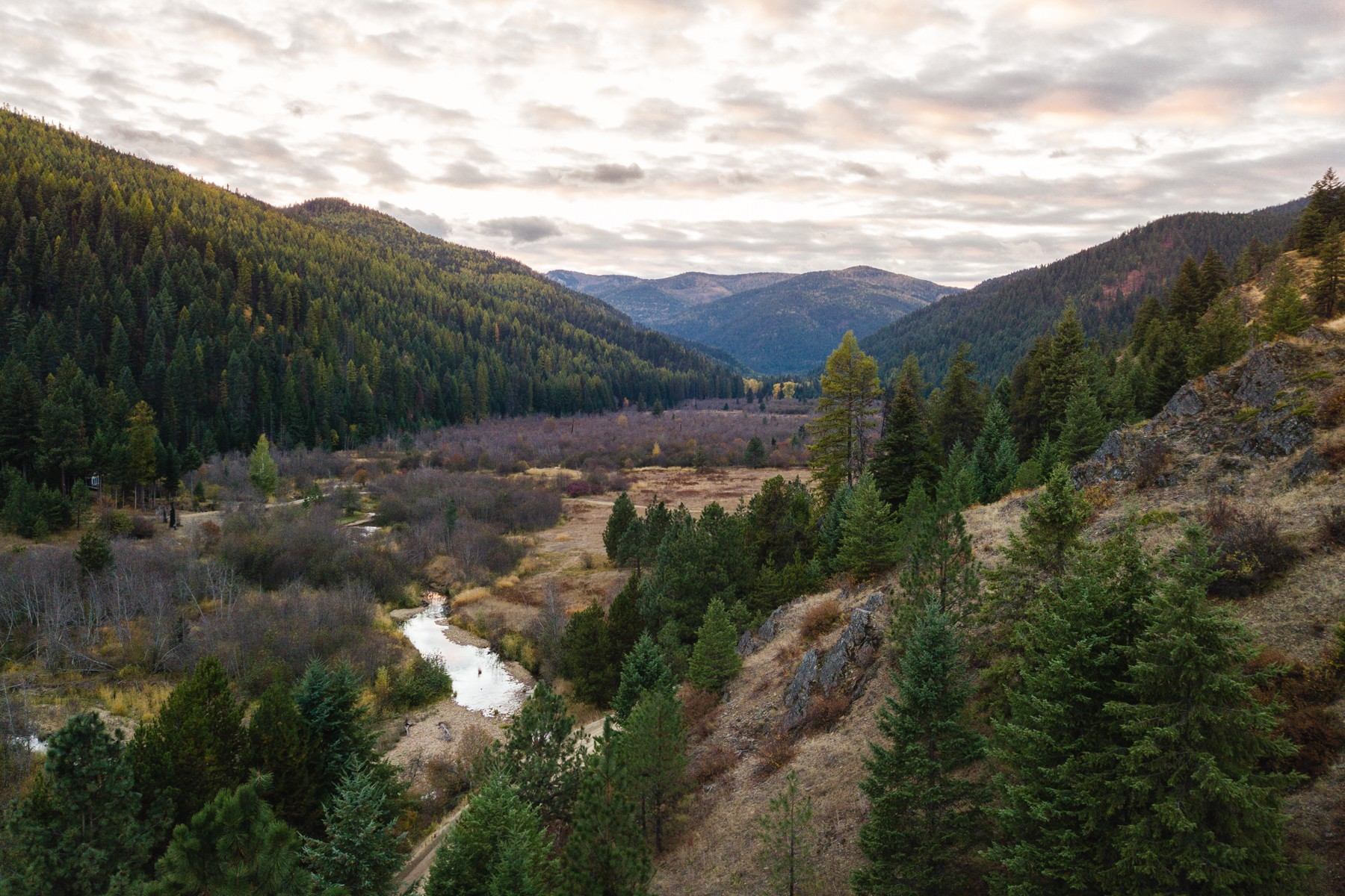 Land for Sale at Lot 15 Whitepine Creek Road Trout Creek, Montana 59874 United States